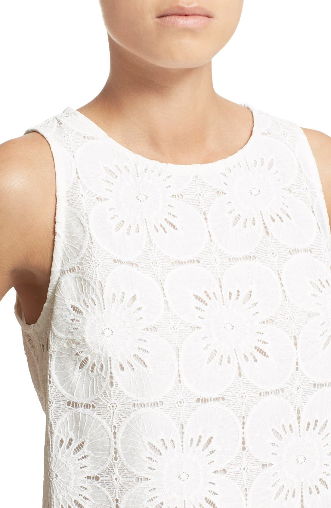 Alternate Image 4  - Trina Turk 'Pretti' Lace Top