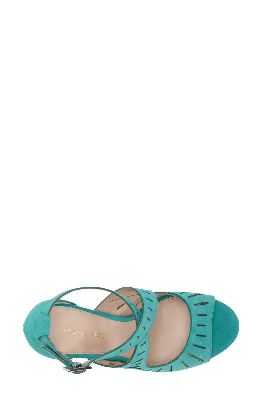 Alternate Image 3  - Pelle Moda 'Menlo' Cutout Sandal (Women)