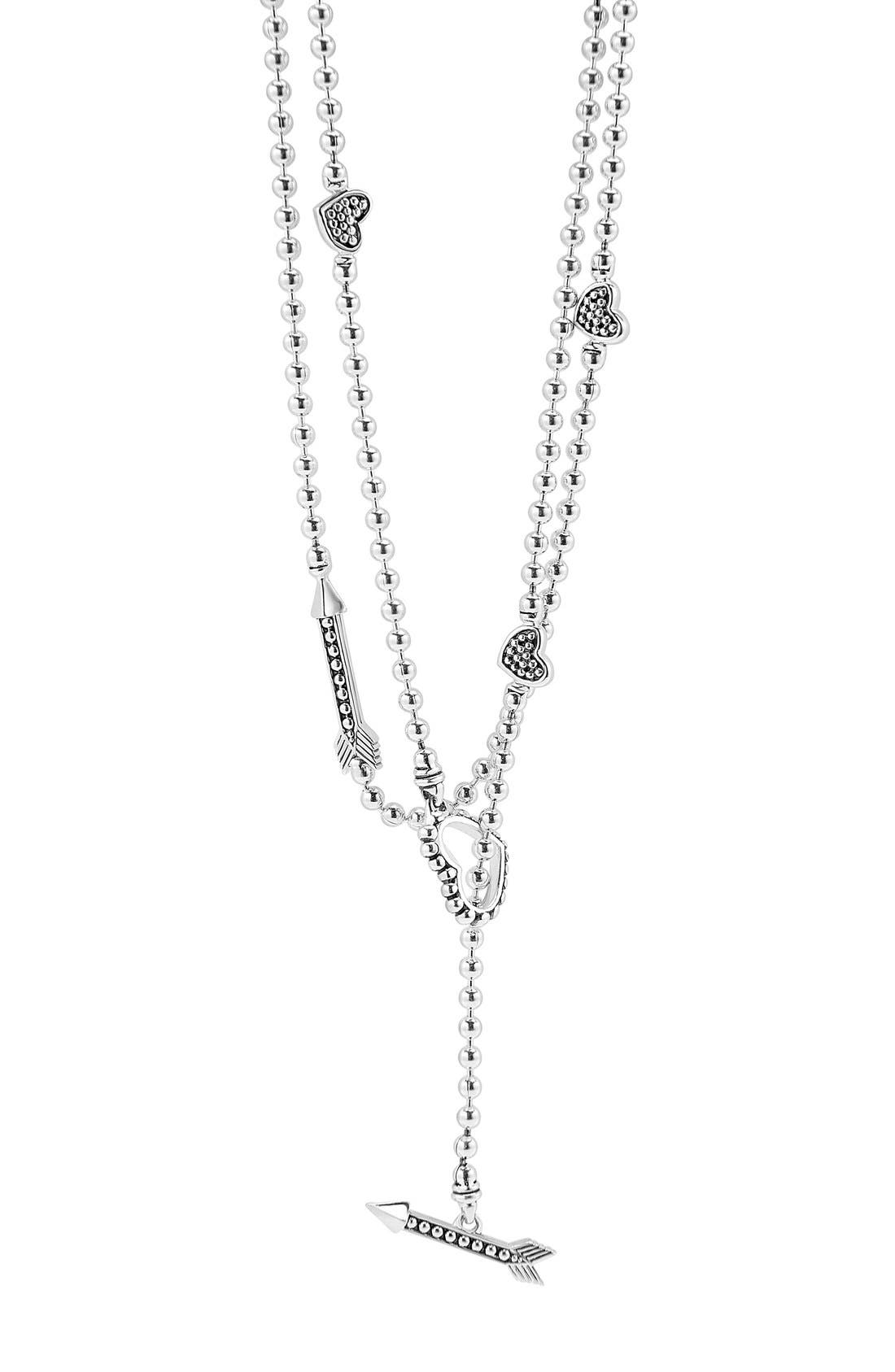 Alternate Image 2  - LAGOS 'Beloved' Heart & Arrow Toggle Necklace