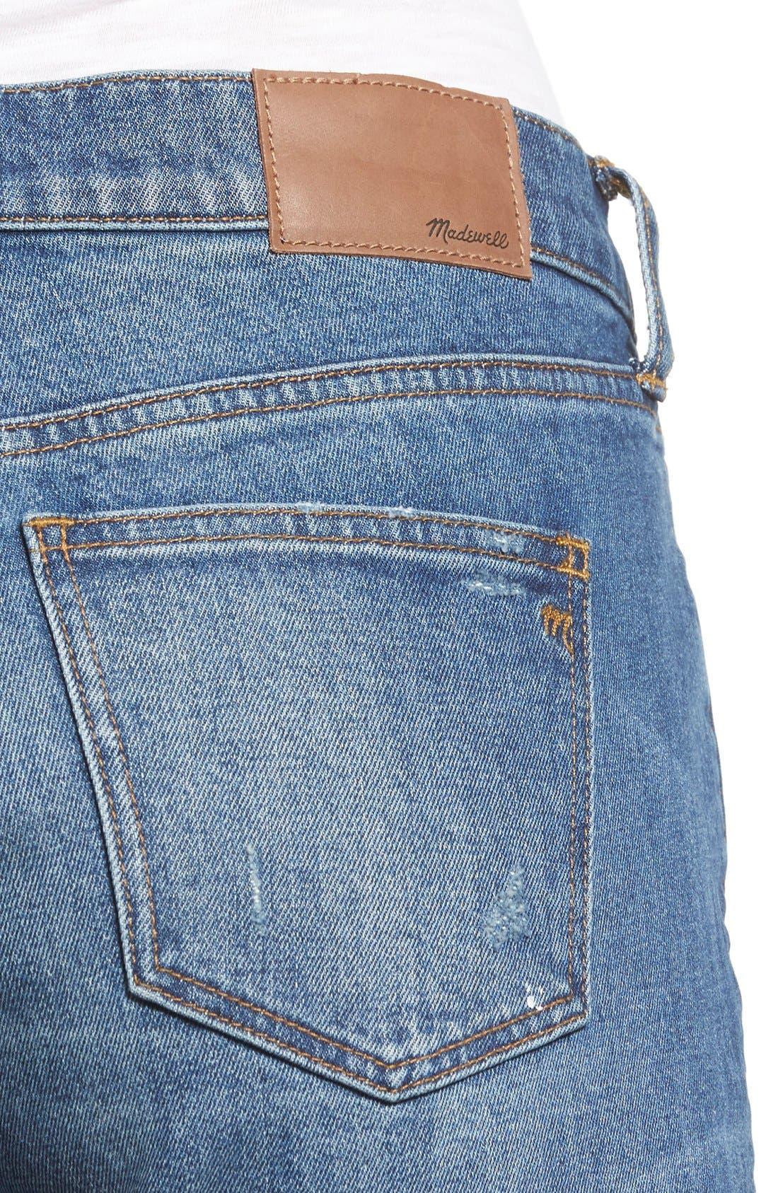 Alternate Image 4  - Madewell Slim Boy Jeans (Hatfield)