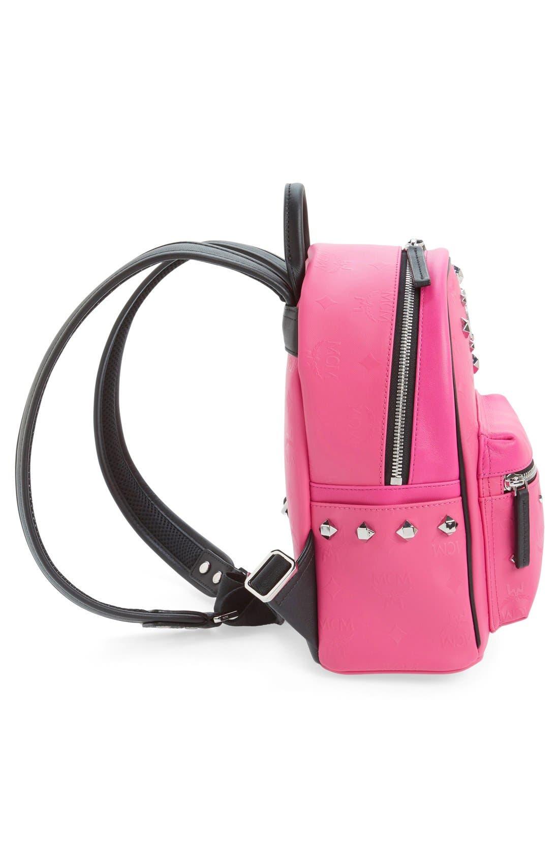 Alternate Image 5  - MCM 'Mini Stark Odeon' Studded Backpack
