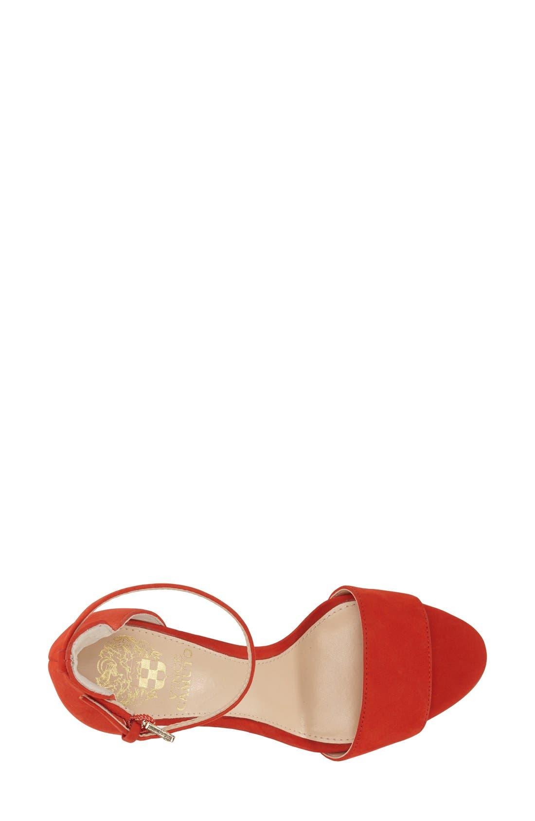 Alternate Image 3  - Vince Camuto 'Court' Ankle Strap Sandal (Women)