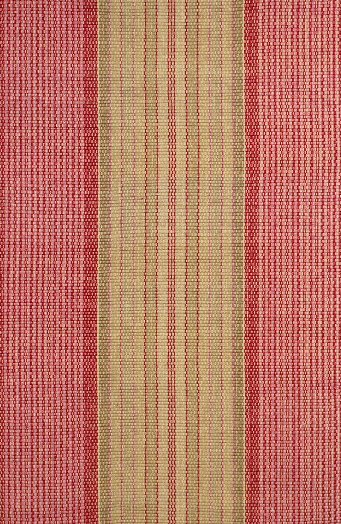 Alternate Image 1 Selected - Dash & Albert 'Framboise' Cotton Rug