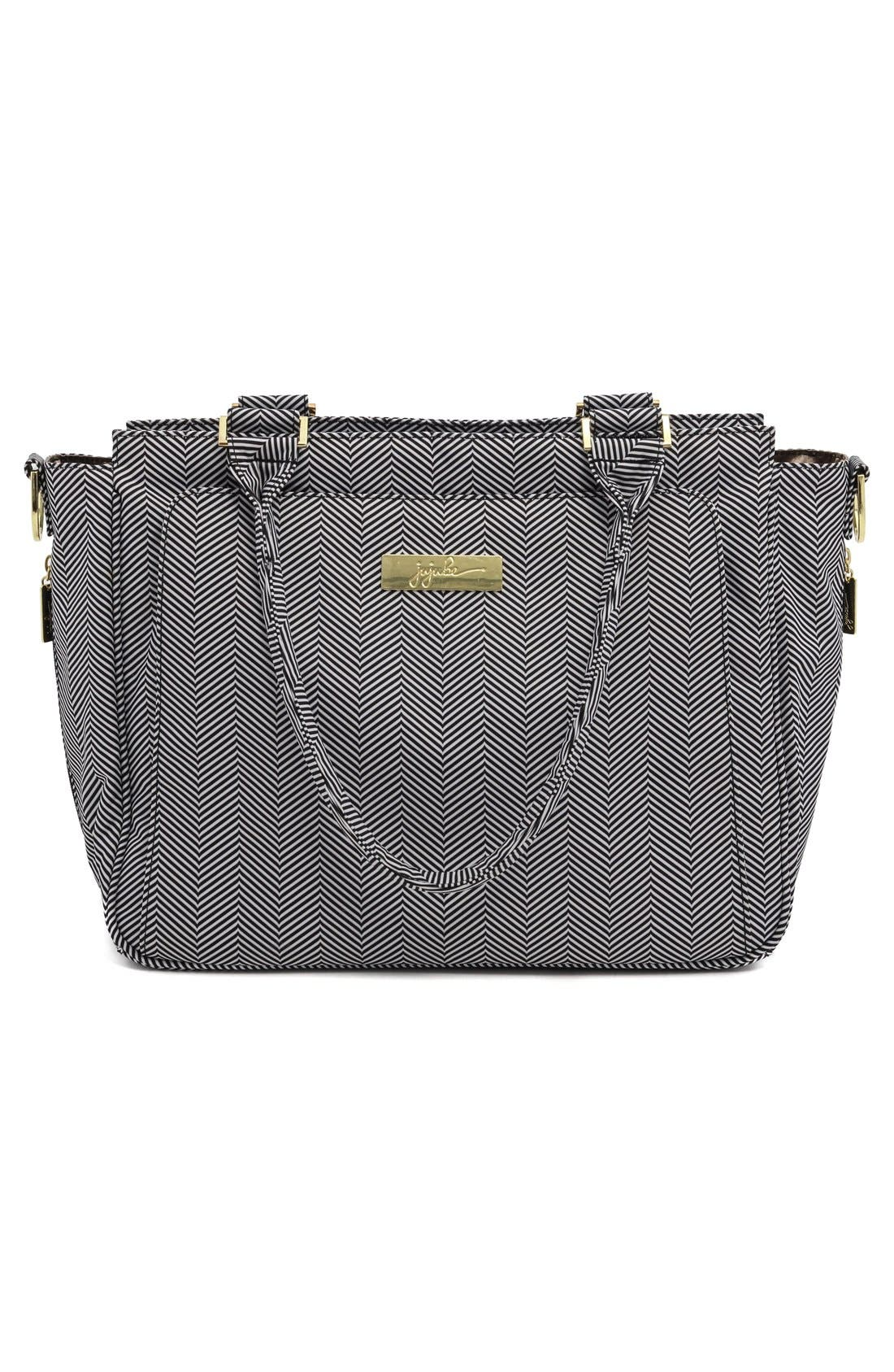 'Be Classy' Messenger Diaper Bag,                             Alternate thumbnail 5, color,                             The Queen Of The Nile