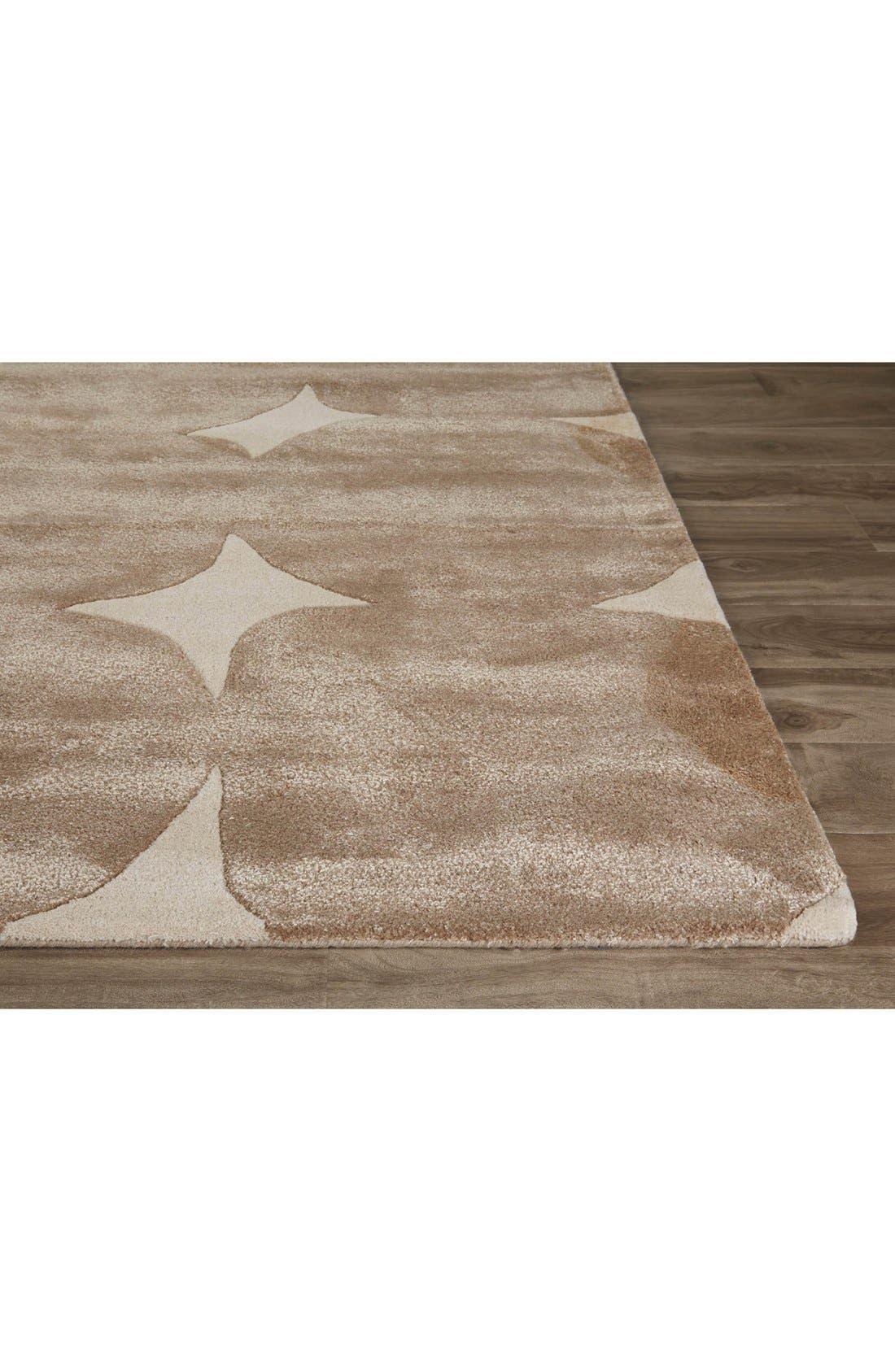 Alternate Image 2  - kate spade new york 'gramercy' dot wool & silk rug