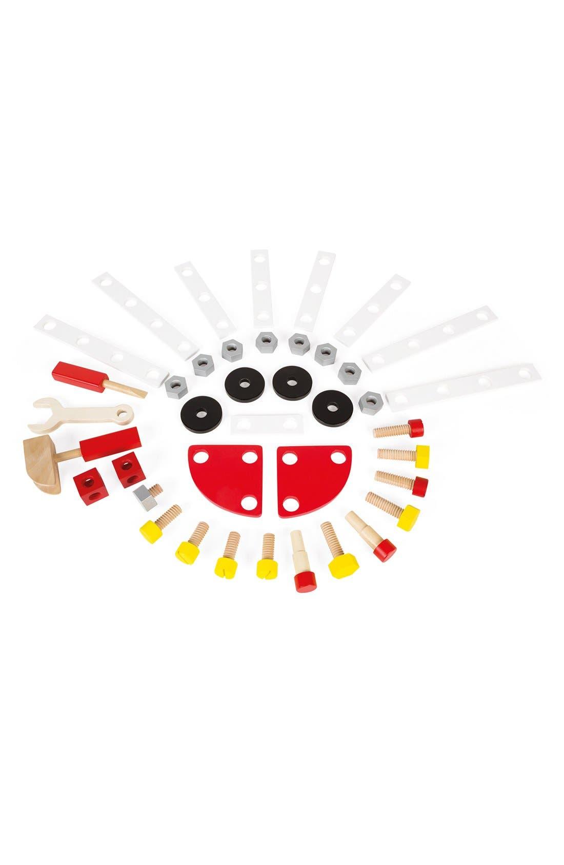 Alternate Image 2  - Janod 'Bricolo Redmaster Magnetic Workbench' Play Set