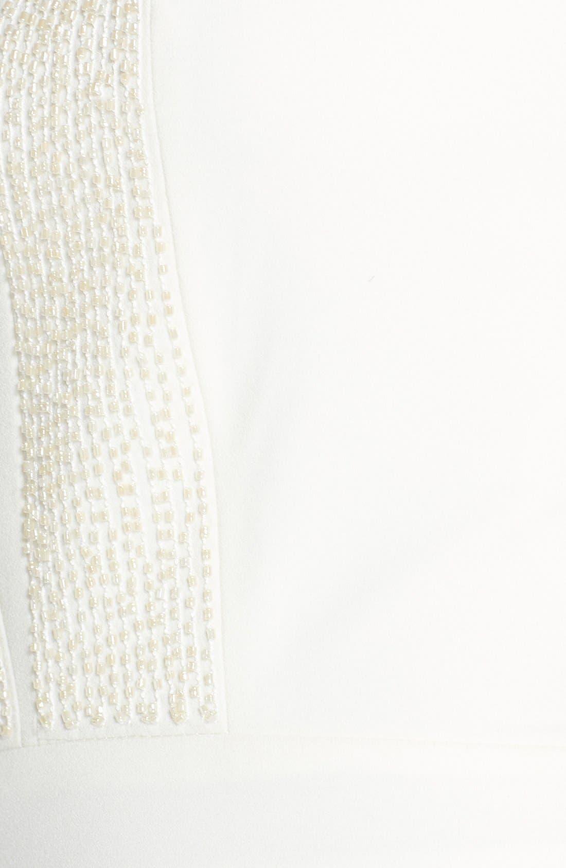 Alternate Image 6  - Halston Heritage Embellished Halter Dress