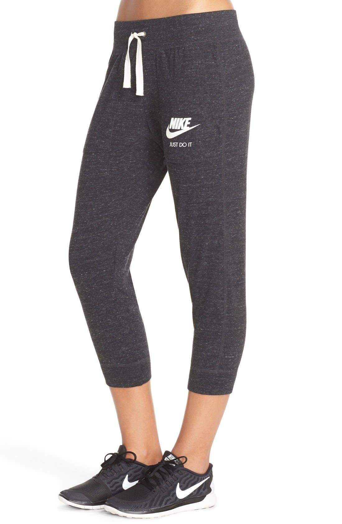 Alternate Image 3  - Nike 'Gym Vintage' Capris