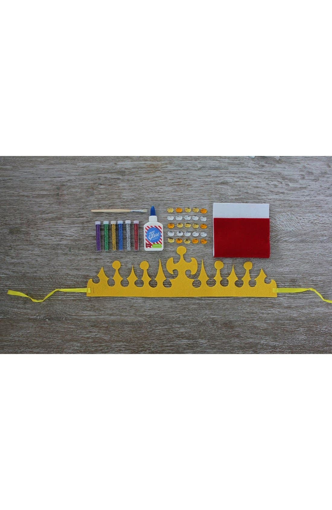 'Crown Yourself King' DIY Craft Set,                             Alternate thumbnail 3, color,                             Multi