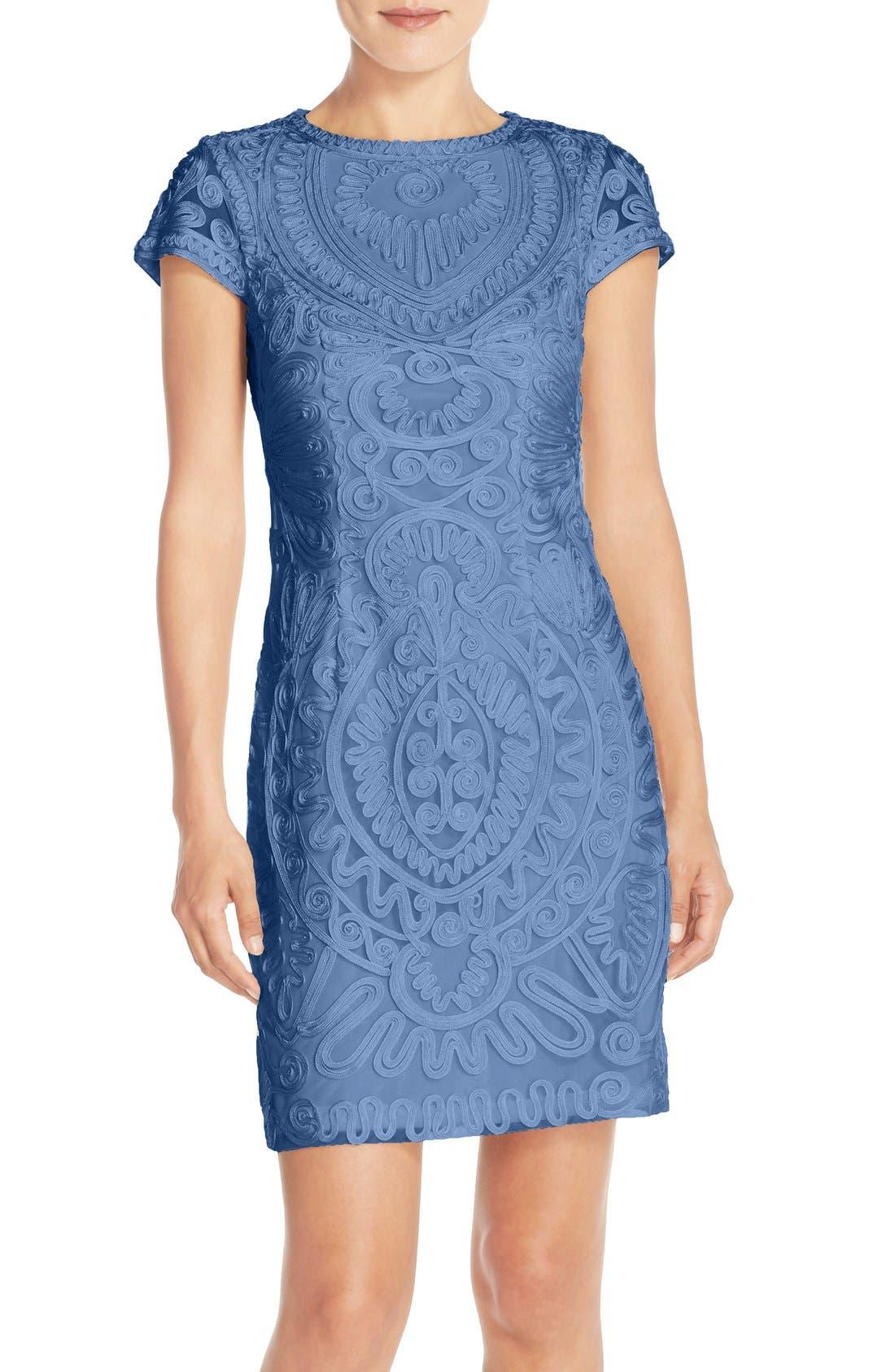 JS Collections Soutache Dress (Regular & Petite)