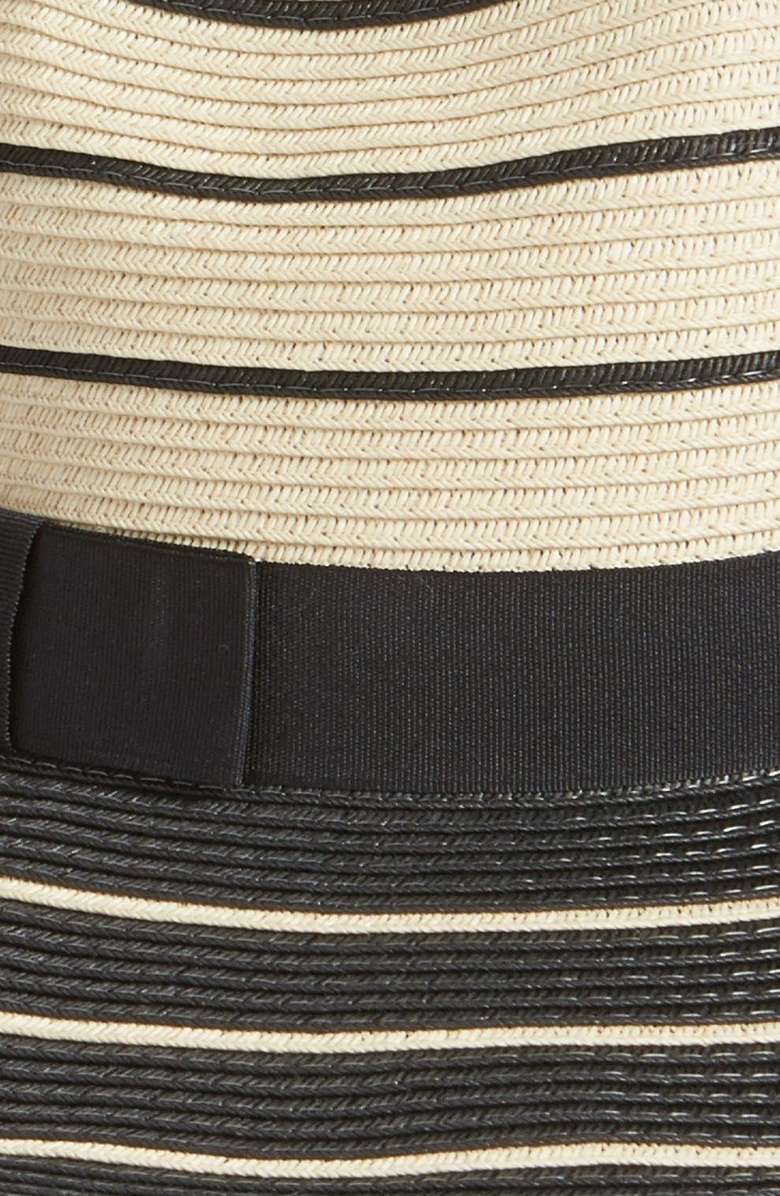 Alternate Image 2  - Halogen Striped Panama Hat