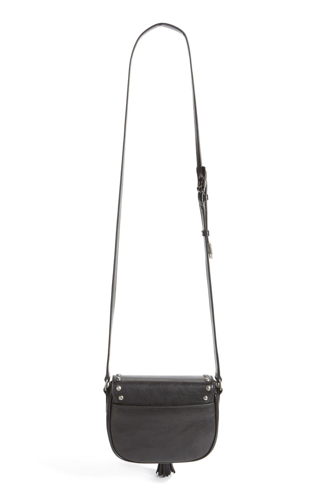 Alternate Image 3  - Saint Laurent 'Small Kim' Calfskin Crossbody Bag