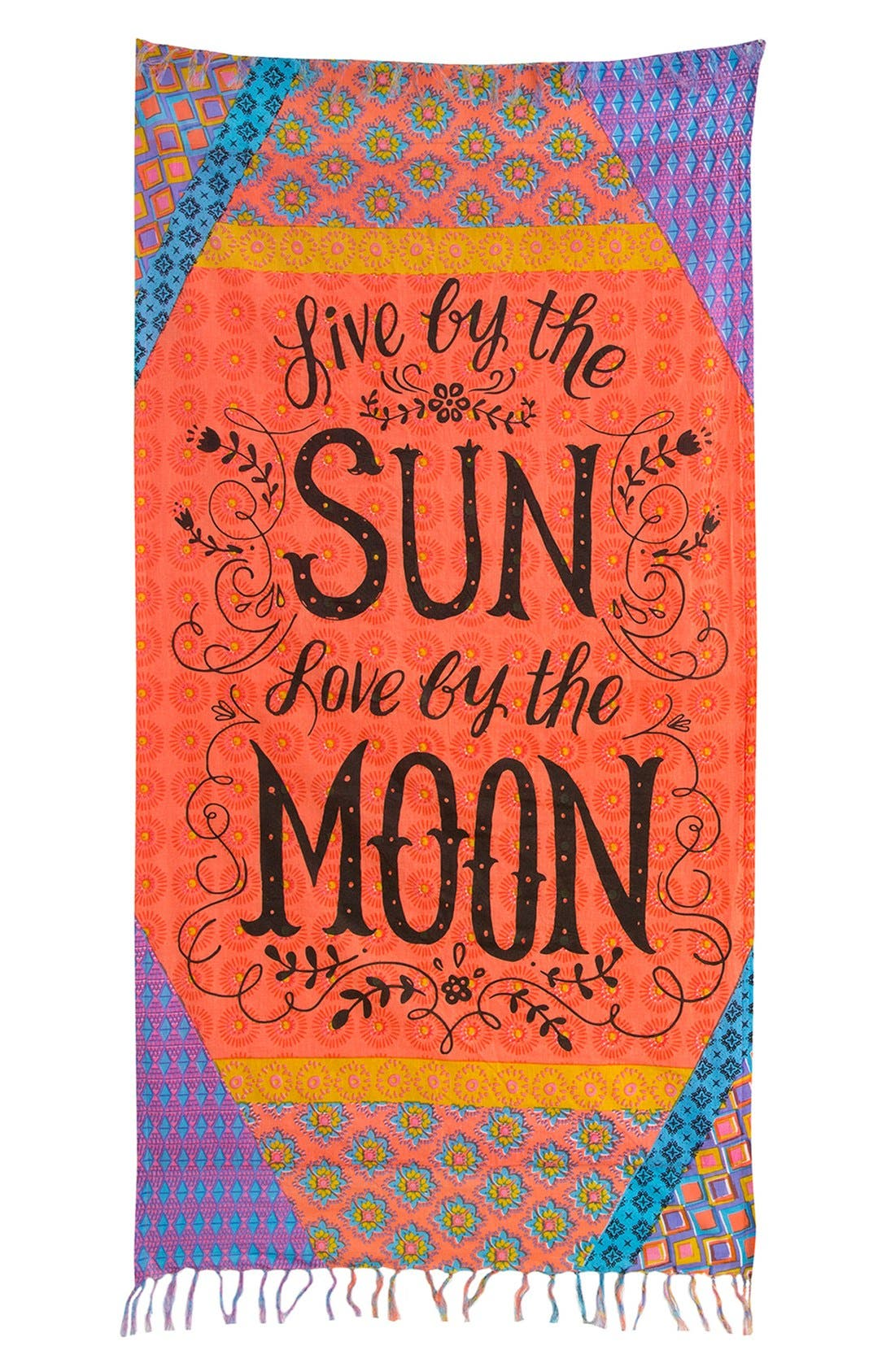 Alternate Image 1 Selected - Natural Life 'Live by the Sun' Beach Towel
