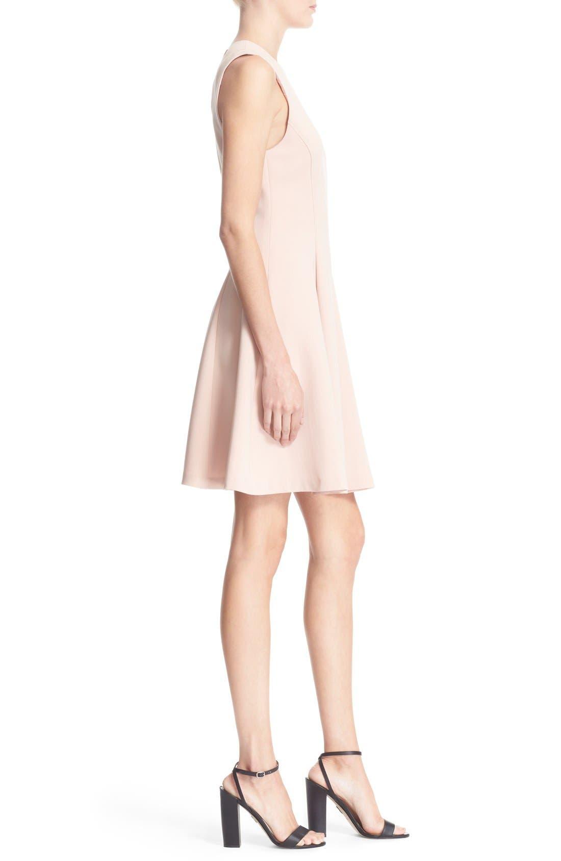 Alternate Image 3  - Theory 'Tespa' Crepe Fit & Flare Dress