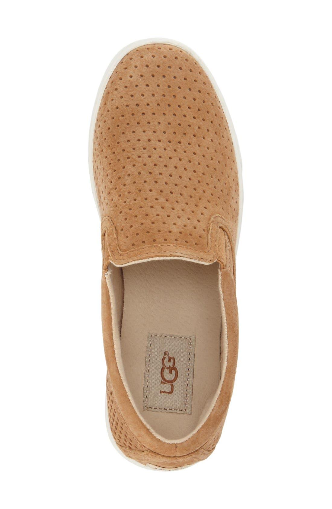 Alternate Image 3  - UGG® 'Fierce Geo' Perforated Slip-On Sneaker (Women)