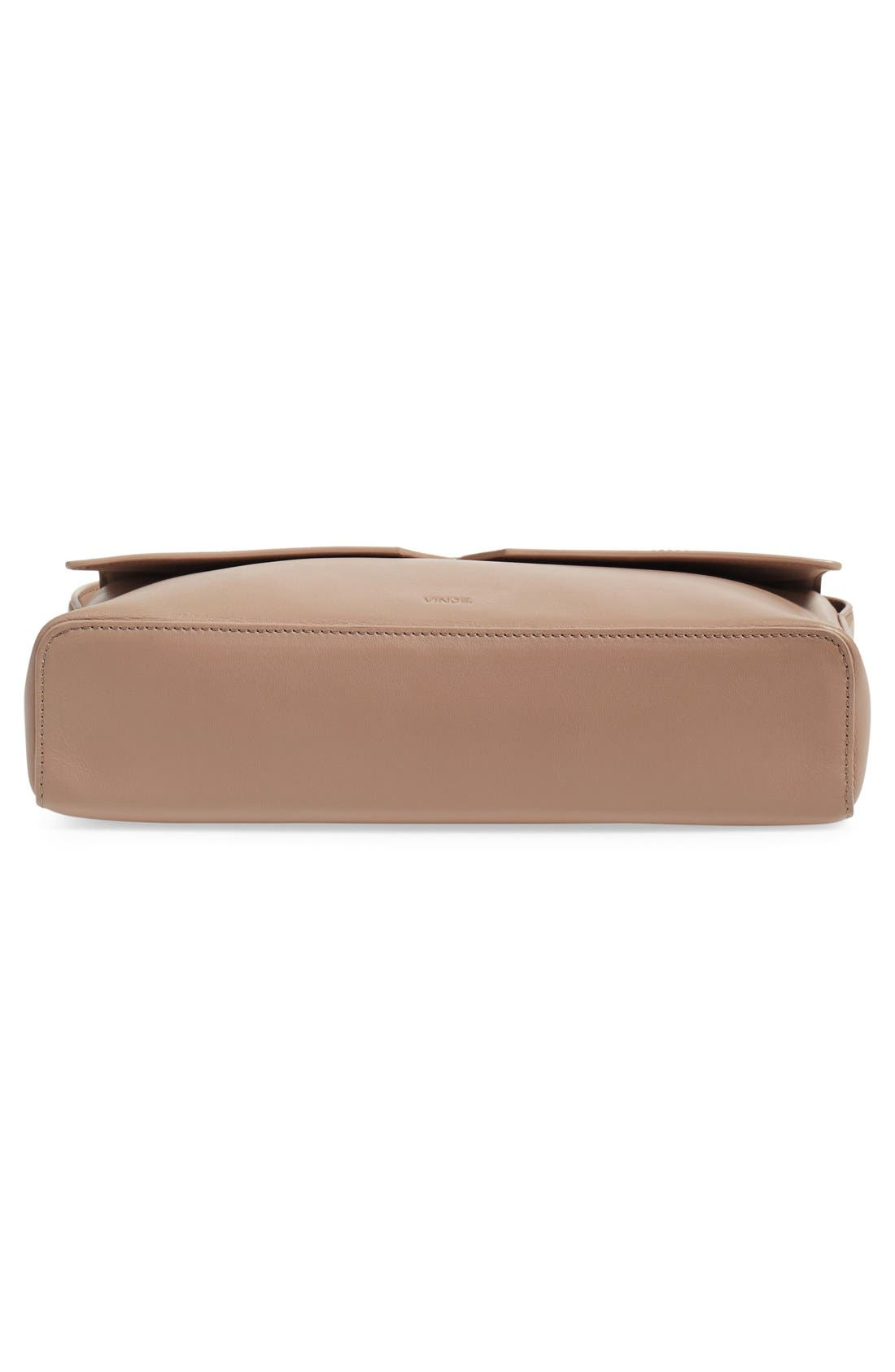 Alternate Image 6  - Vince 'Medium Signature' Leather Crossbody Bag