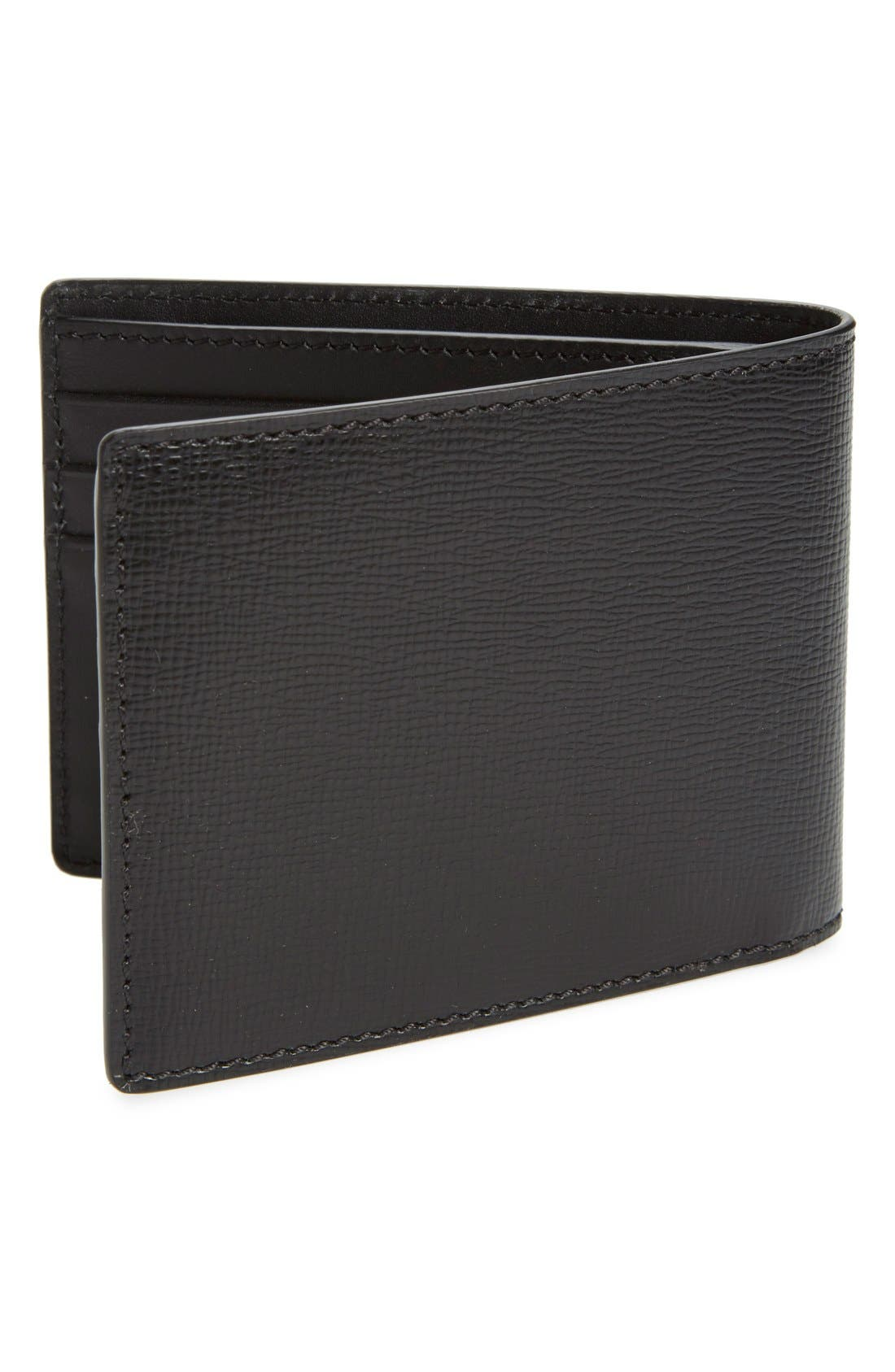 Alternate Image 3  - Burberry 'New London' Calfskin Leather Bifold Wallet