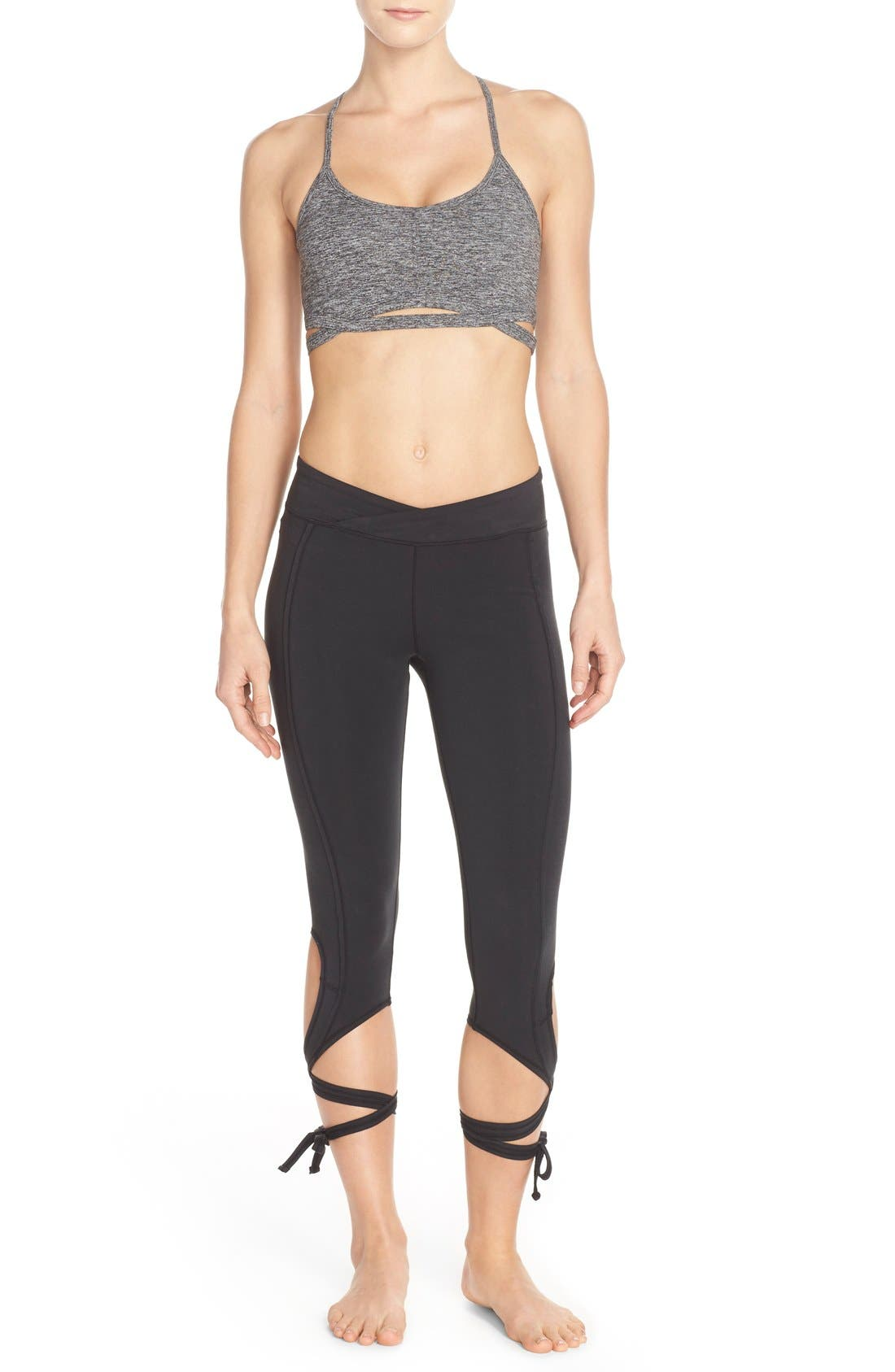 Alternate Image 6  - Free People Turnout Tie Capris