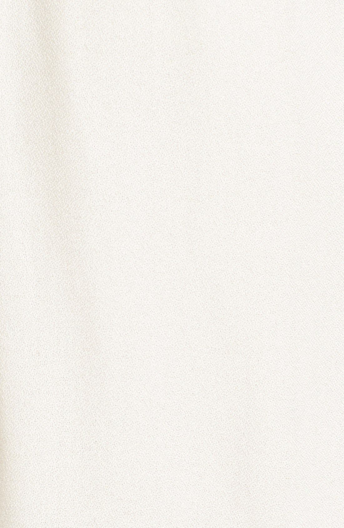 Alternate Image 5  - Ella Moss 'Cresent' Lace Contrast Blouse