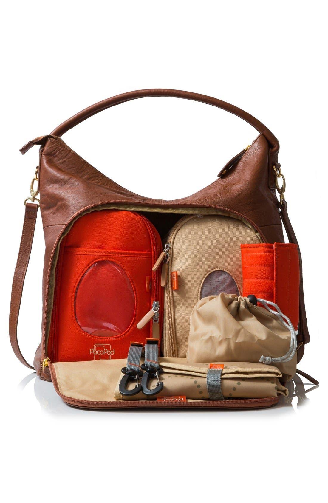 Alternate Image 3  - PacaPod 'Jasper' Leather Diaper Bag
