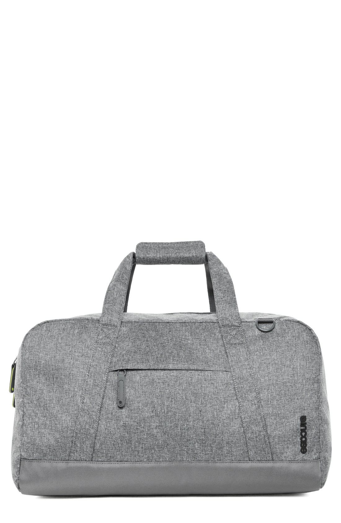 EO Duffel Bag,                         Main,                         color, Heather Grey