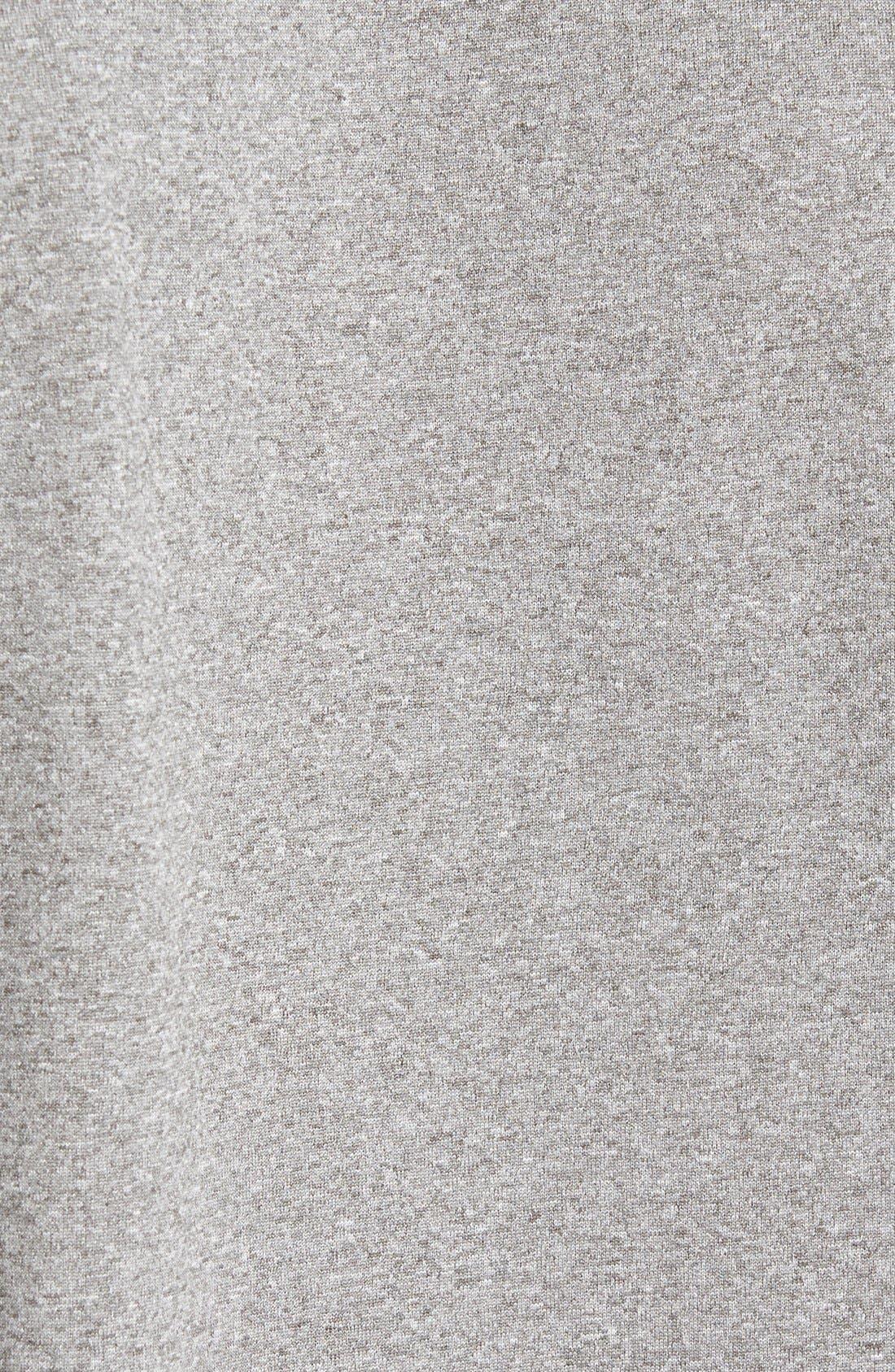 'Legend 2.0' Dri-FIT Training T-Shirt,                             Alternate thumbnail 5, color,                             Carbon Heather/ Black