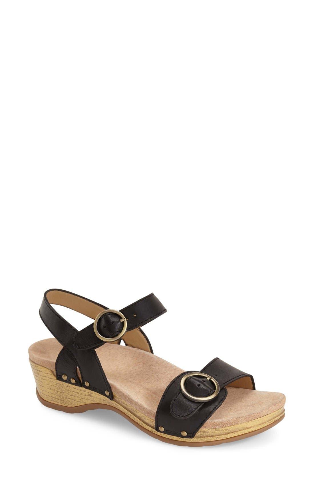 Dansko 'Mabel' Quarter Strap Sandal (Women)