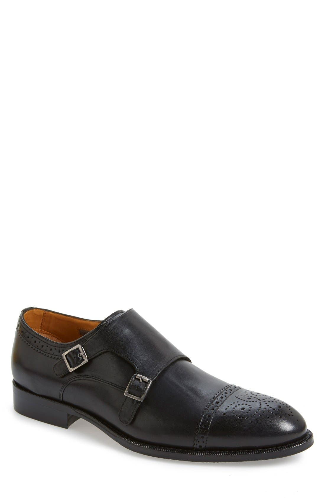 Alternate Image 1 Selected - Vince Camuto 'Briant' Double Monk Strap Shoe (Men)