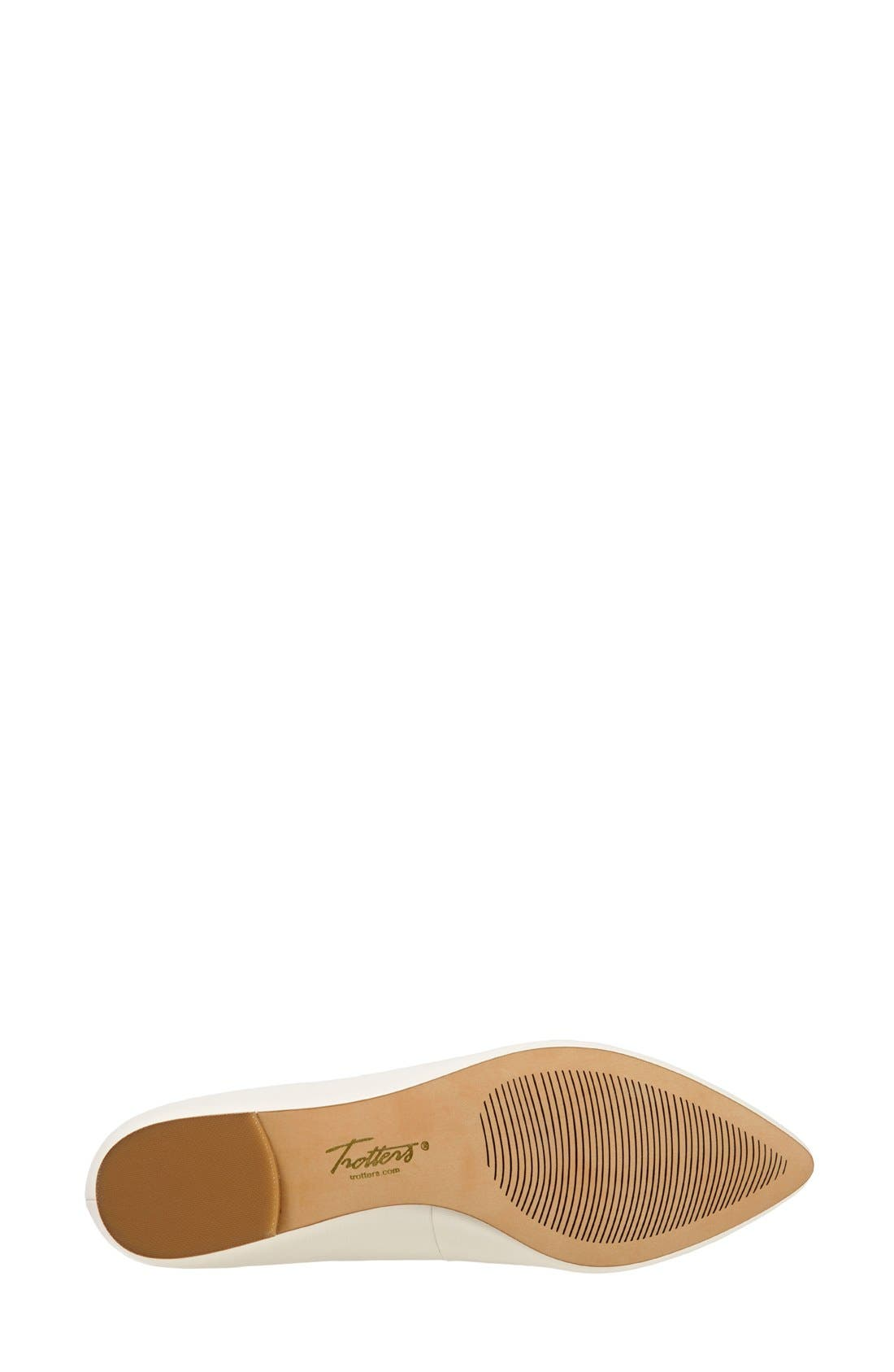 Alternate Image 7  - Trotters Estee Pointed Toe Flat (Women)