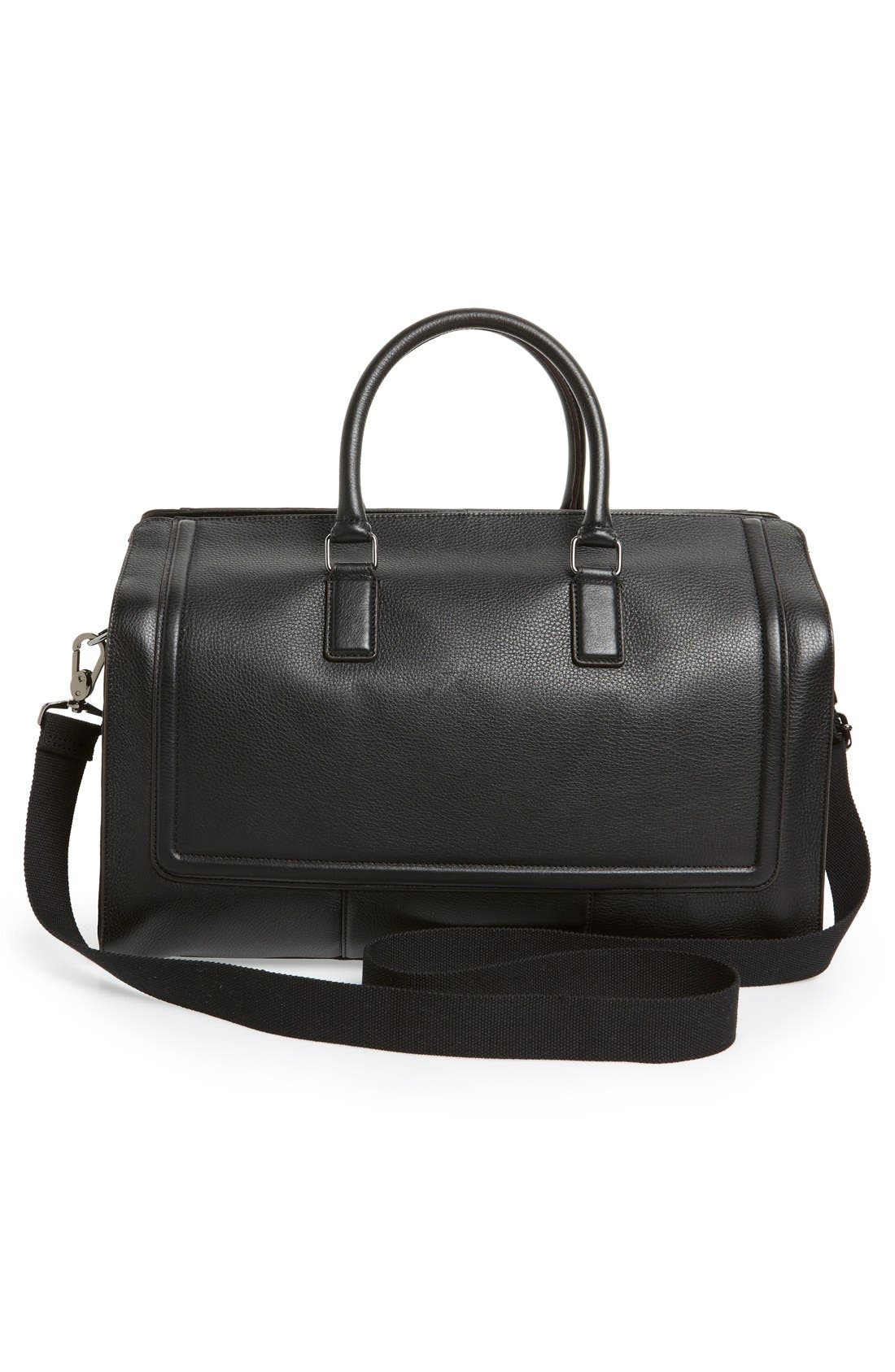 Alternate Image 4  - Ted Baker London 'Shalala' Leather Duffel Bag