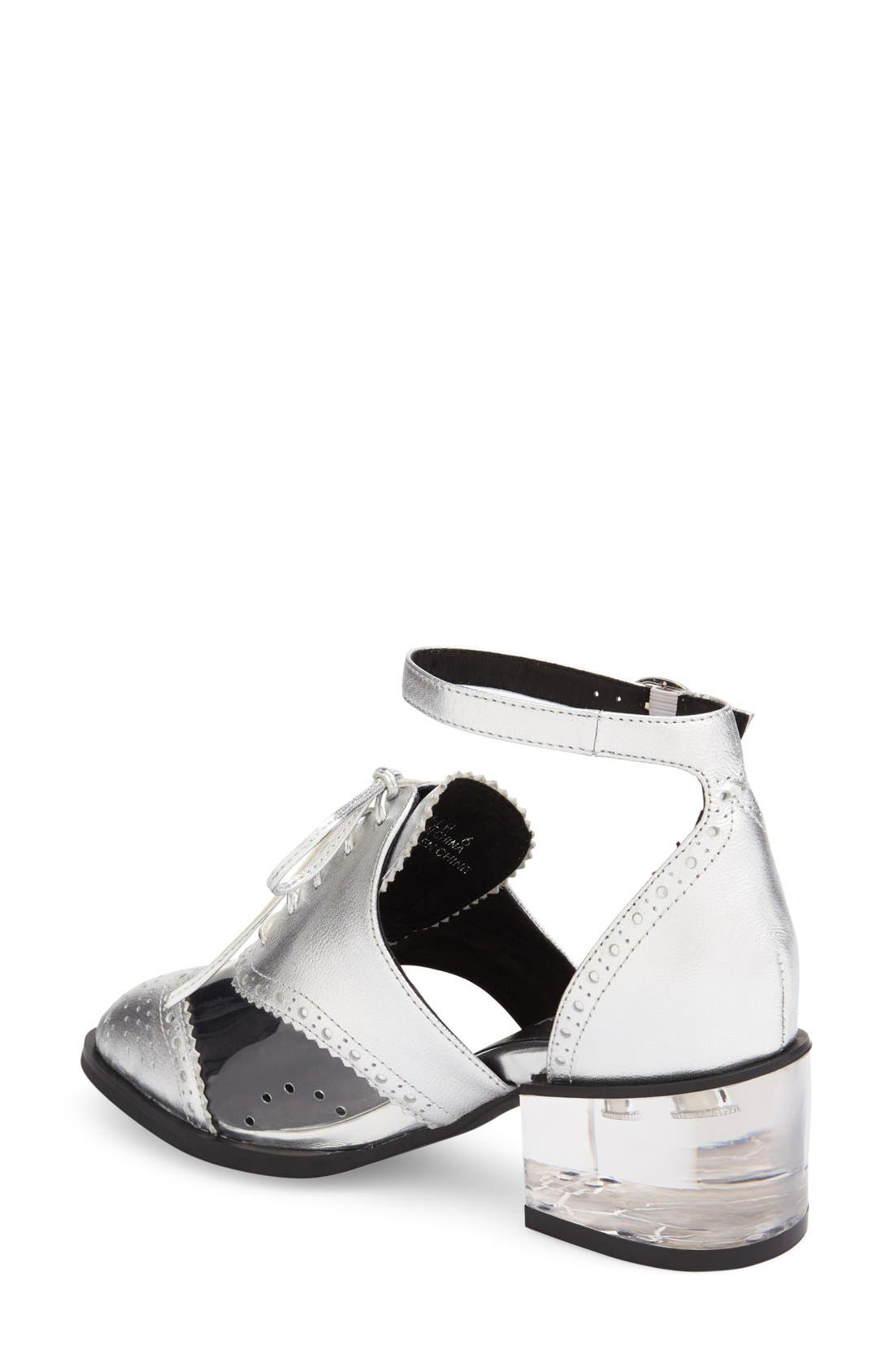 Alternate Image 2  - Jeffrey Campbell 'Thoreau' Ankle Strap Oxford (Women)