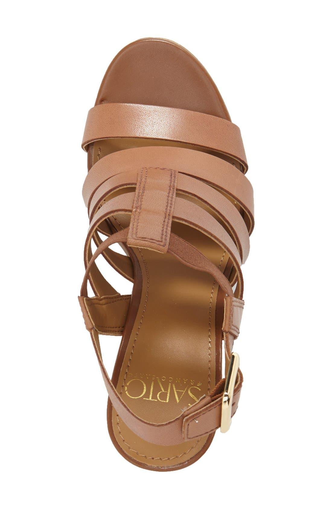 Alternate Image 3  - Franco Sarto 'Montage' Leather Sandal (Women)