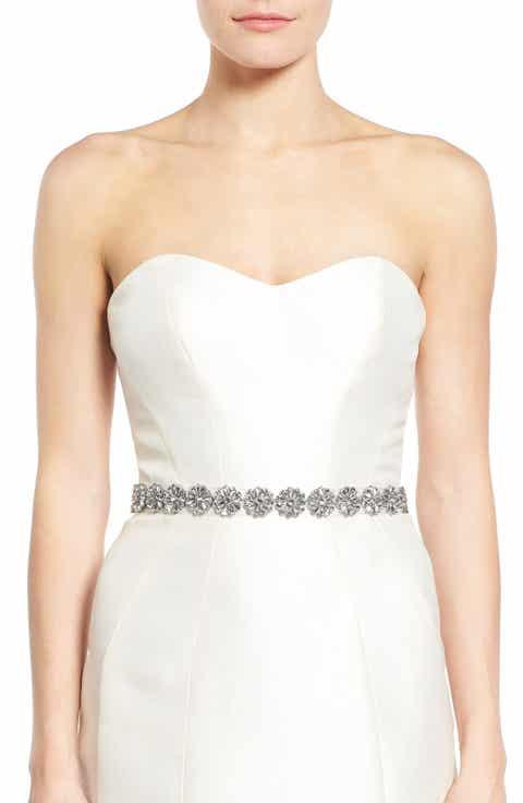 Bridal Belts: Satin Sashes, Beaded Belts & More   Nordstrom