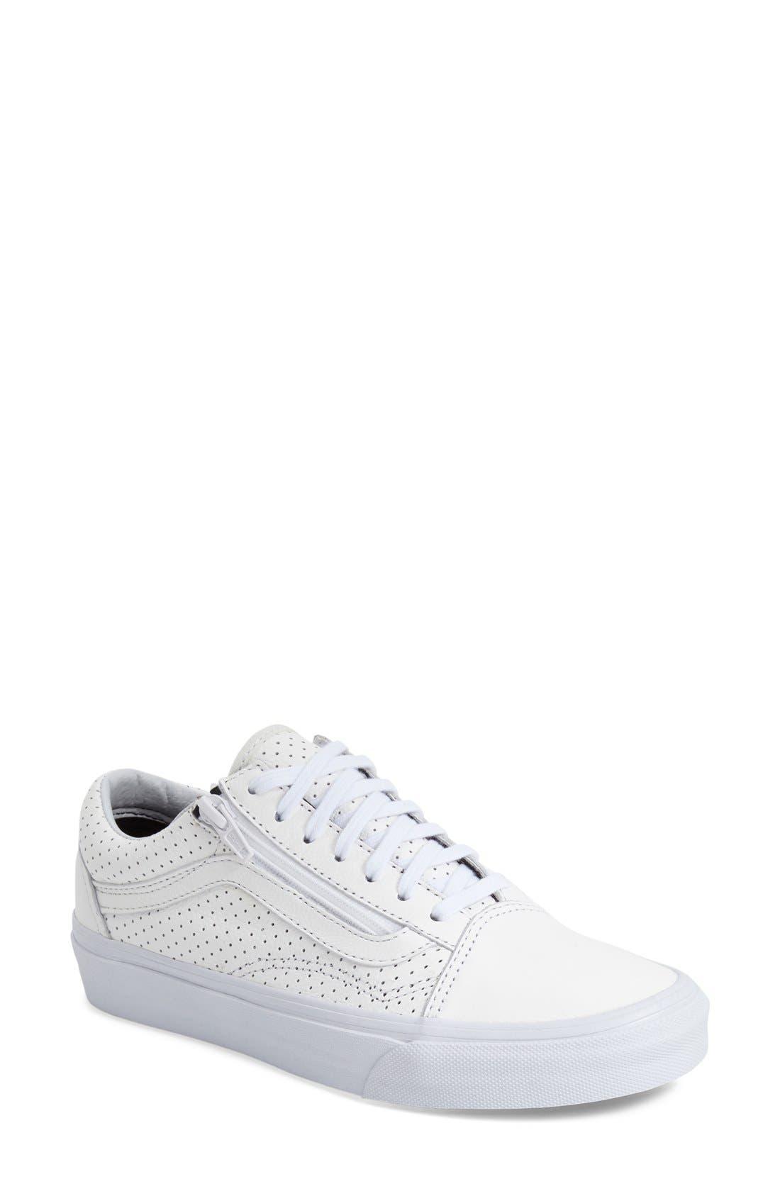 Alternate Image 1 Selected - Vans 'Old Skool' Zip Sneaker (Women)