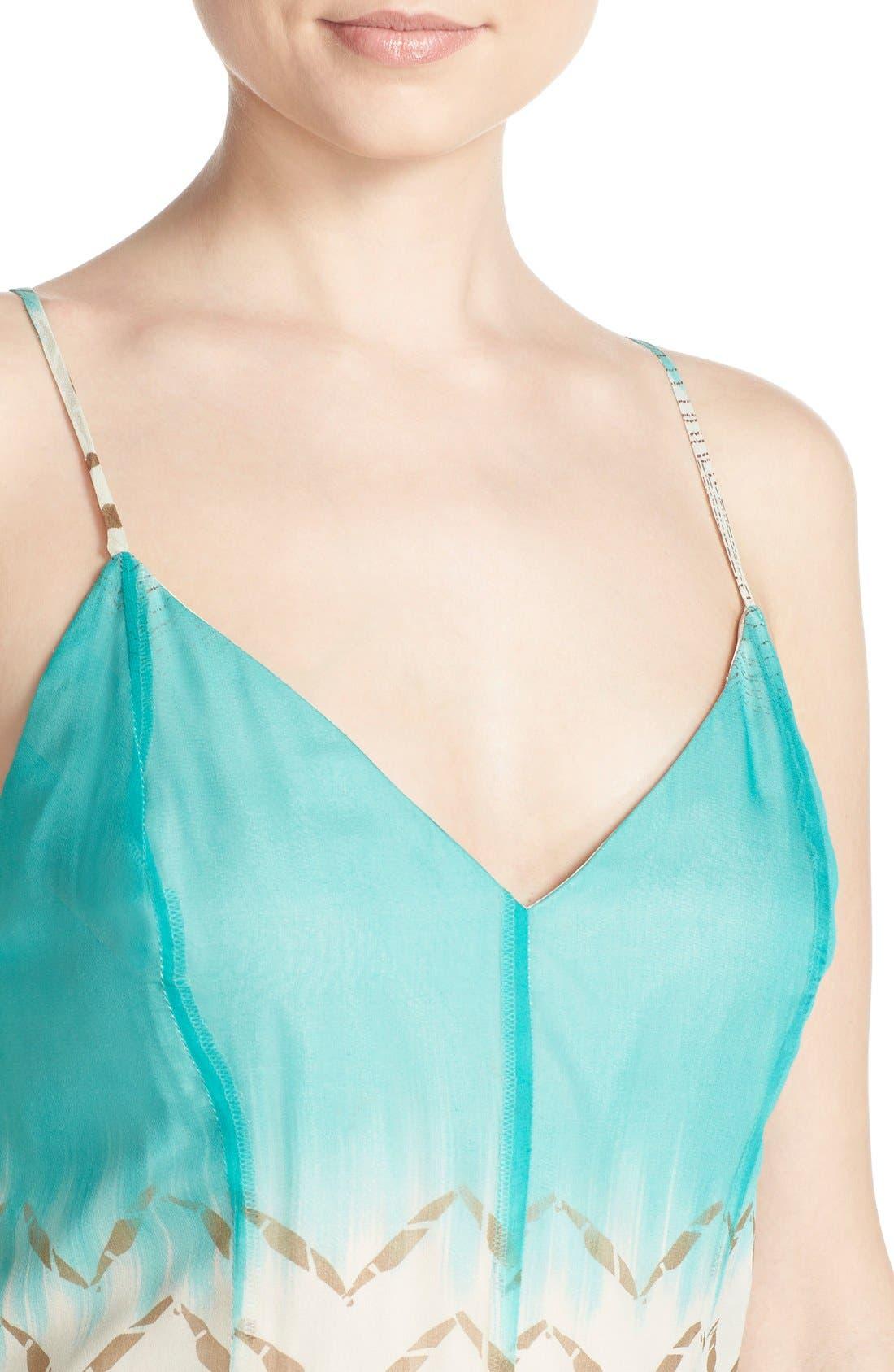 Alternate Image 4  - Charlie Jade Print Silk Chiffon Maxi Dress
