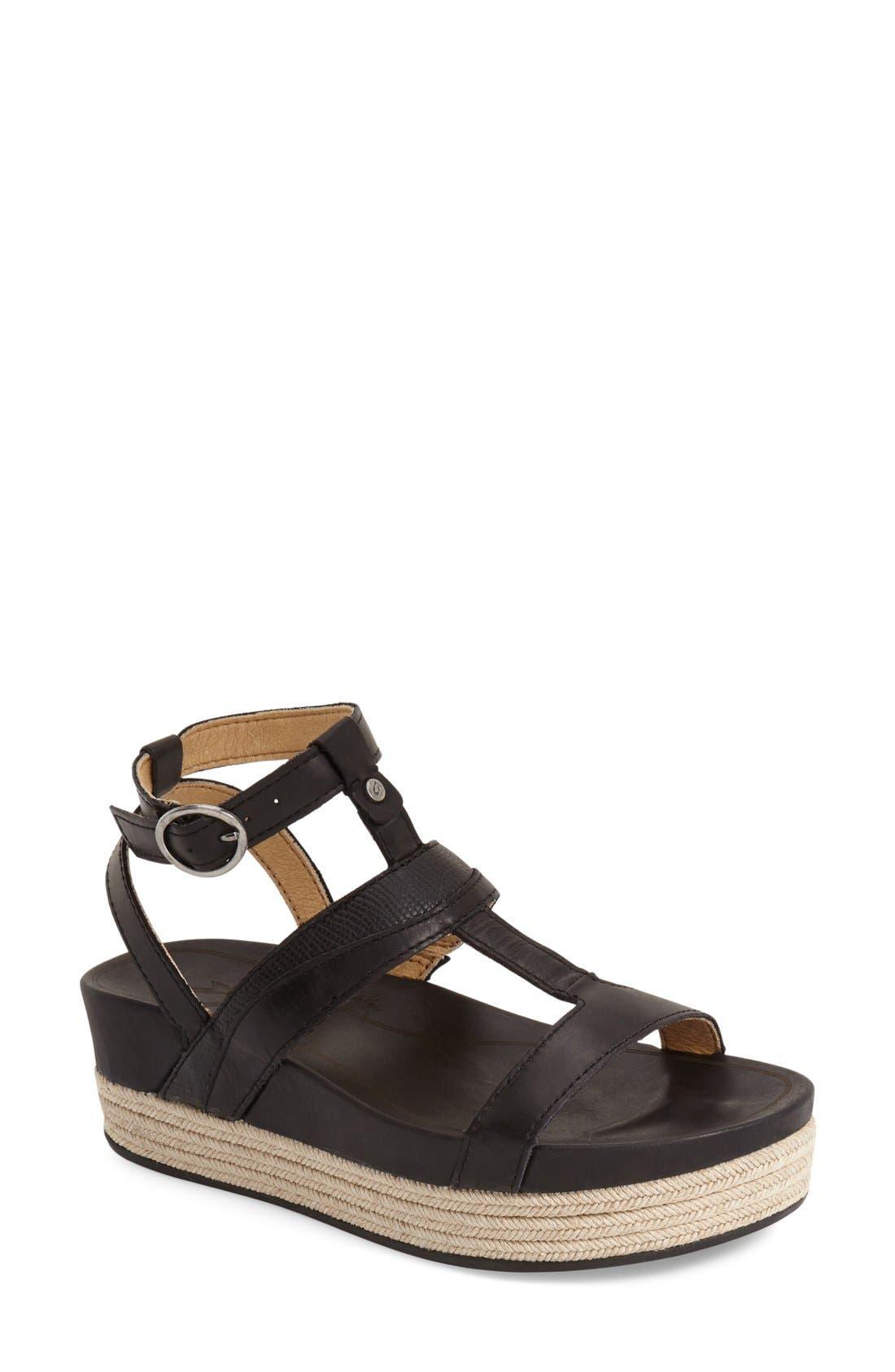 Alternate Image 1 Selected - OluKai 'Hi Ona Loa' Espadrille Platform Sandal (Women)