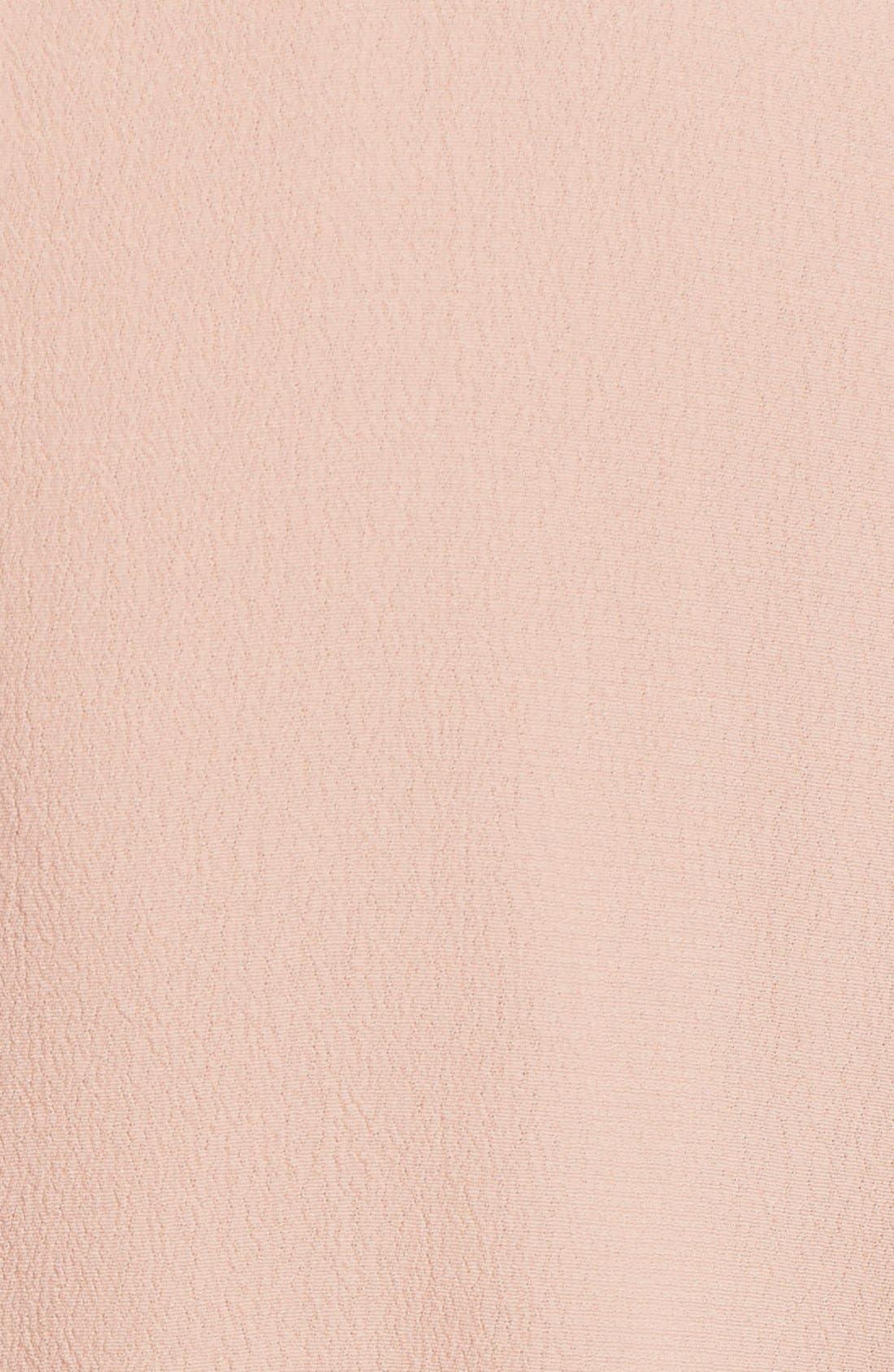 Alternate Image 5  - ASTR Lace-Up Bell Sleeve Shift Dress