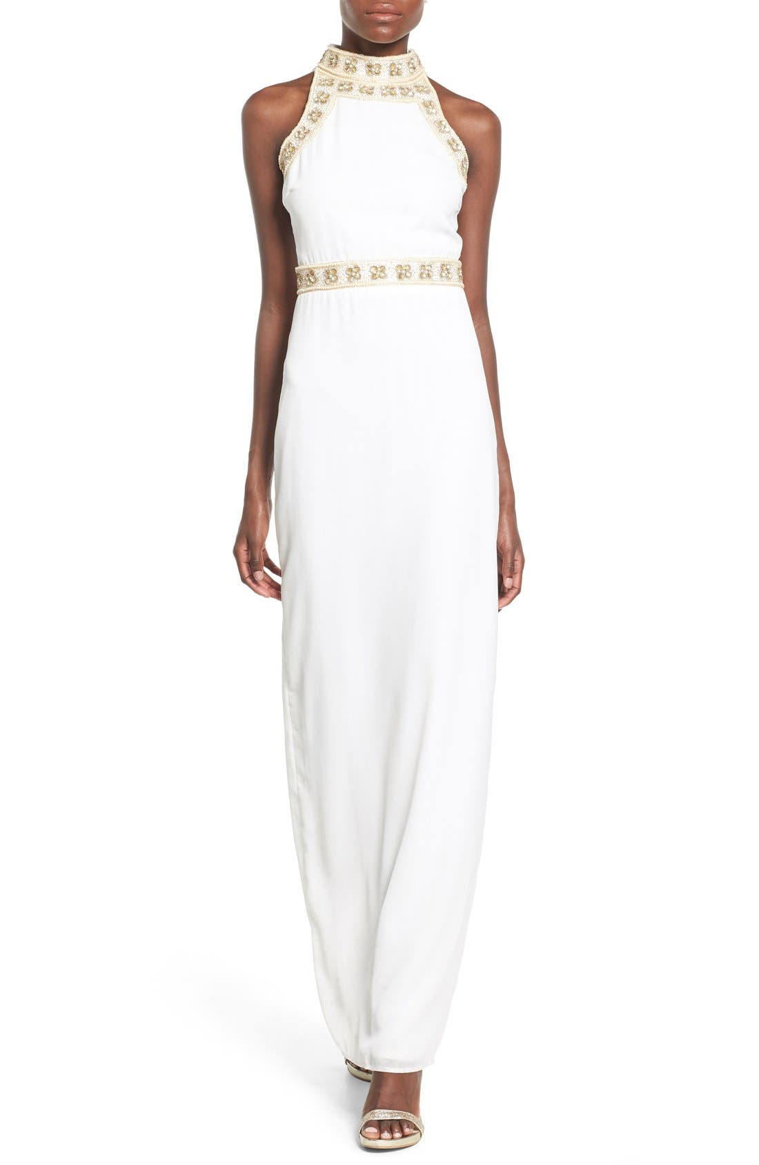 Alternate Image 1 Selected - Missguided Embellished Maxi Dress