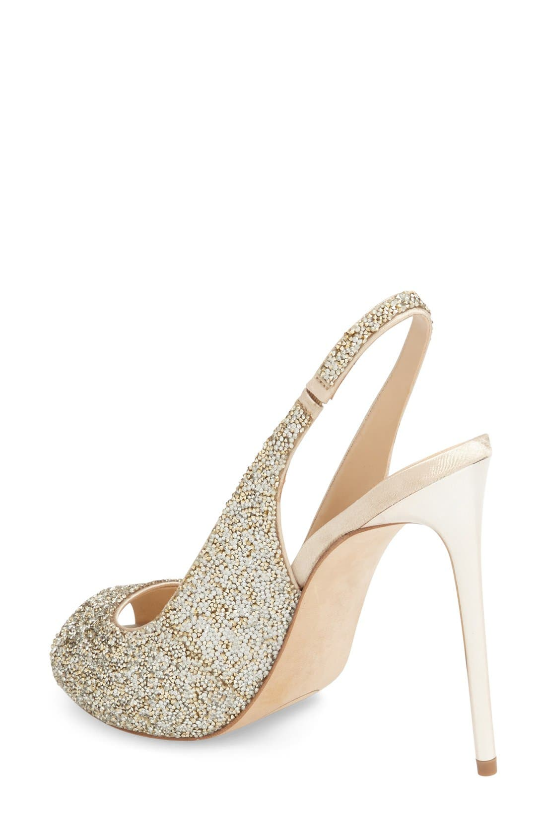 Alternate Image 2  - Imagine Vince Camuto 'Pavi' Slingback Peep Toe Pump (Women)