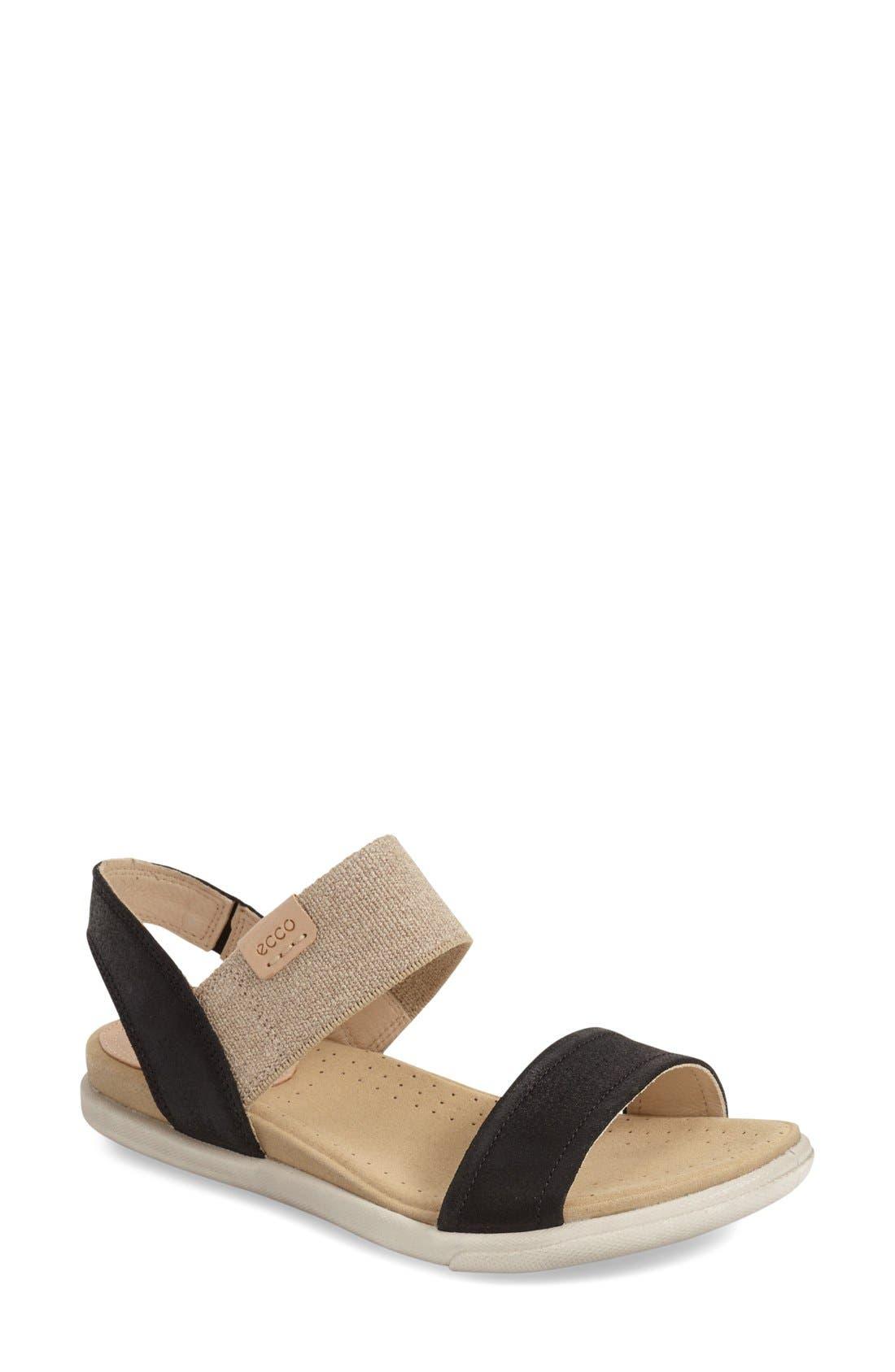 Alternate Image 1 Selected - ECCO 'Damara' Sandal (Women)