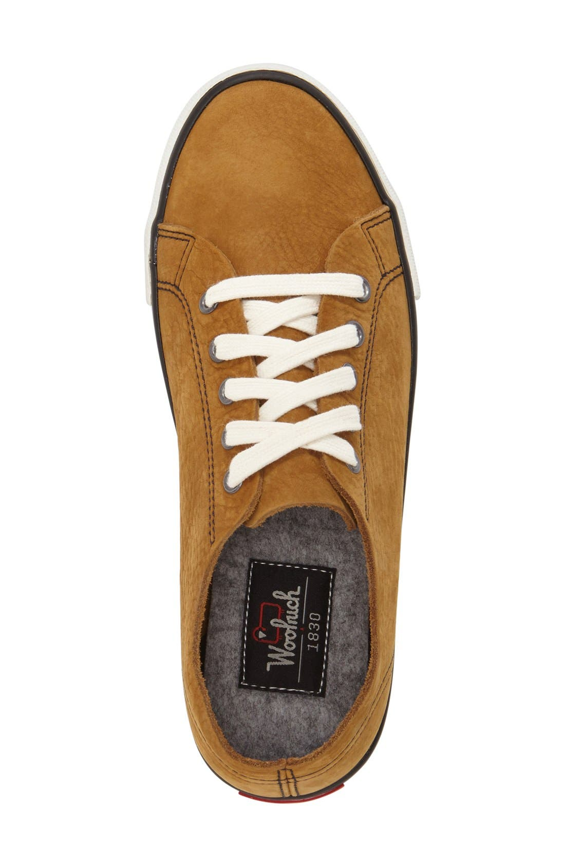 'Strand' Low-Top Sneaker,                             Alternate thumbnail 3, color,                             Toasty Nubuck