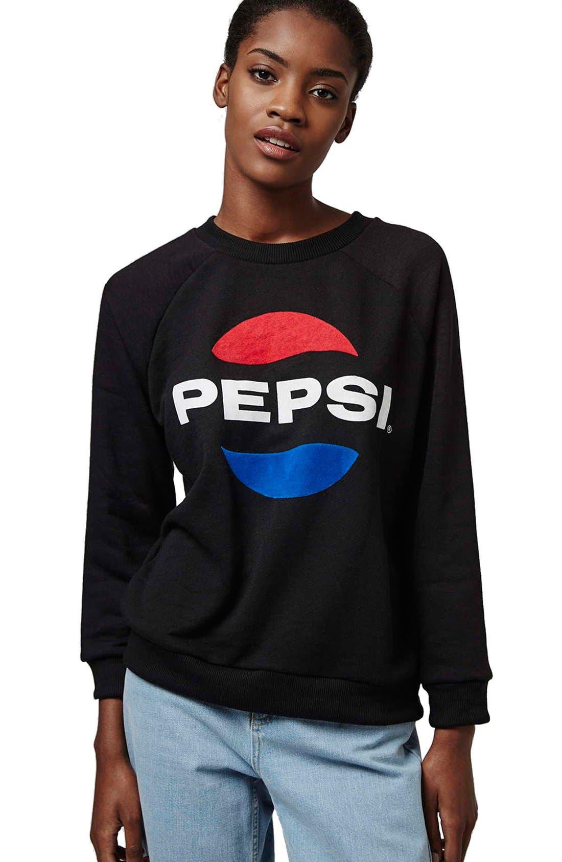 Alternate Image 4  - Topshop Tee and Cake 'Pepsi' Sweatshirt (Petite)