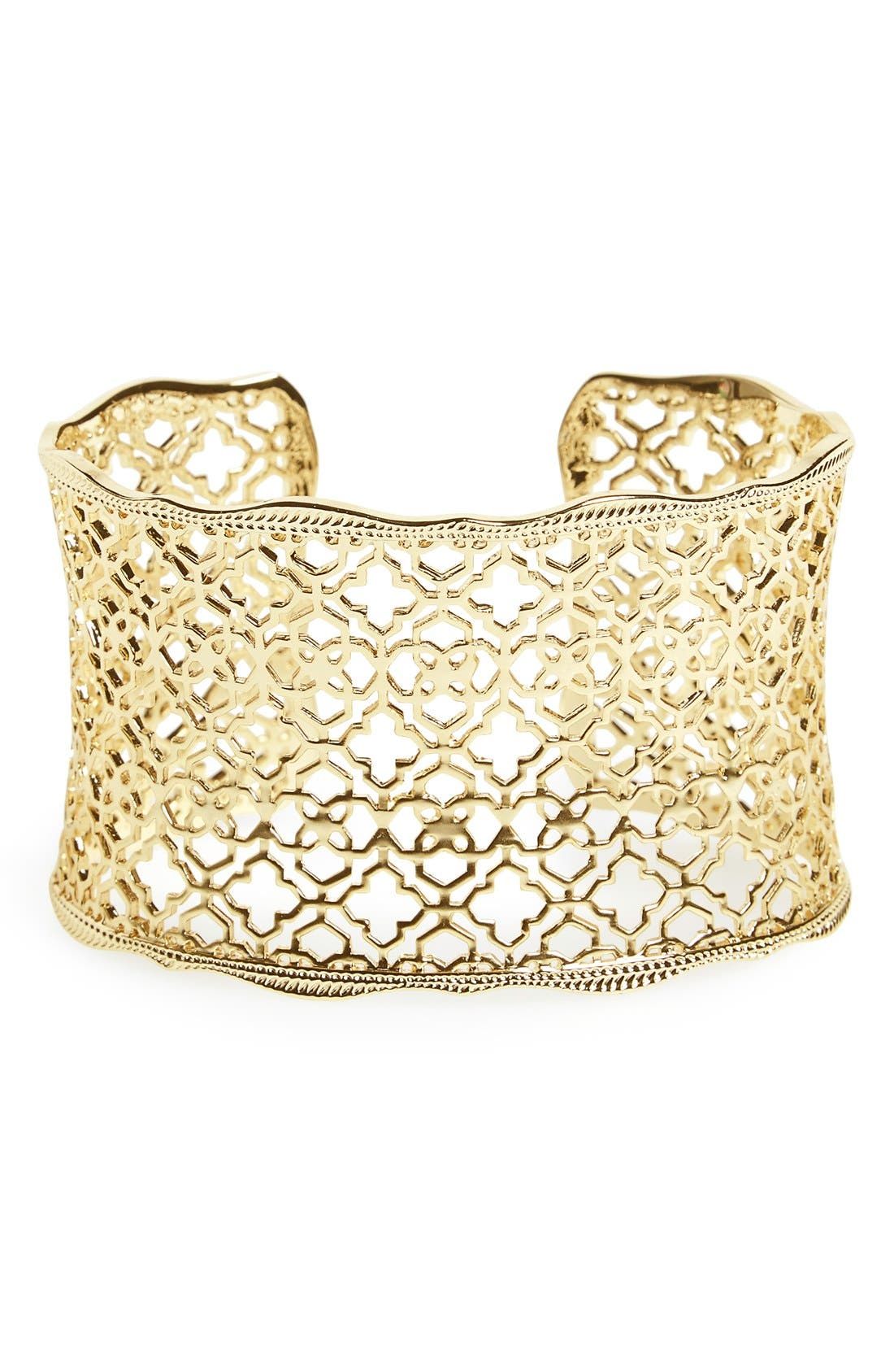 'Mystic Bazaar - Candice' Wide Cuff,                         Main,                         color, Gold