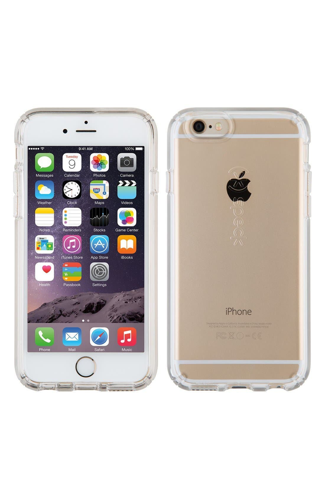 Candyshell Clear iPhone 6/6s Case,                         Main,                         color, Clear