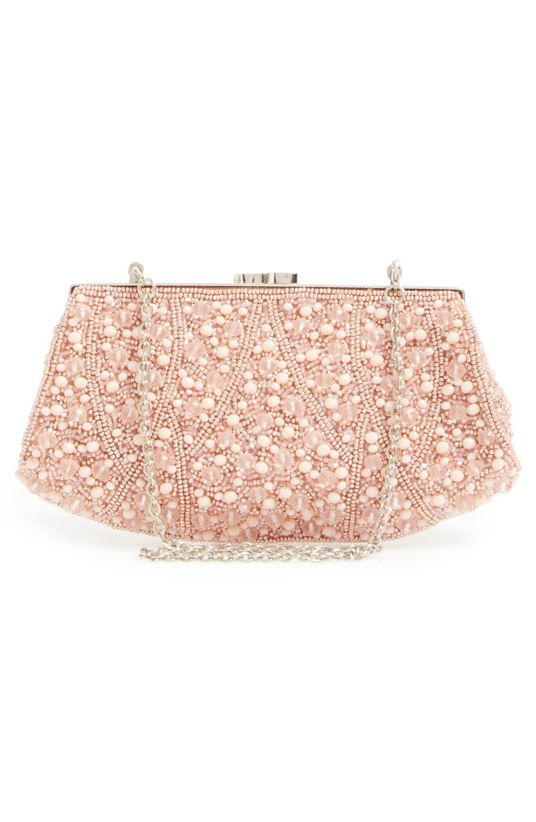 Alternate Image 3  - Glint 'Rivoli' Beaded Clutch