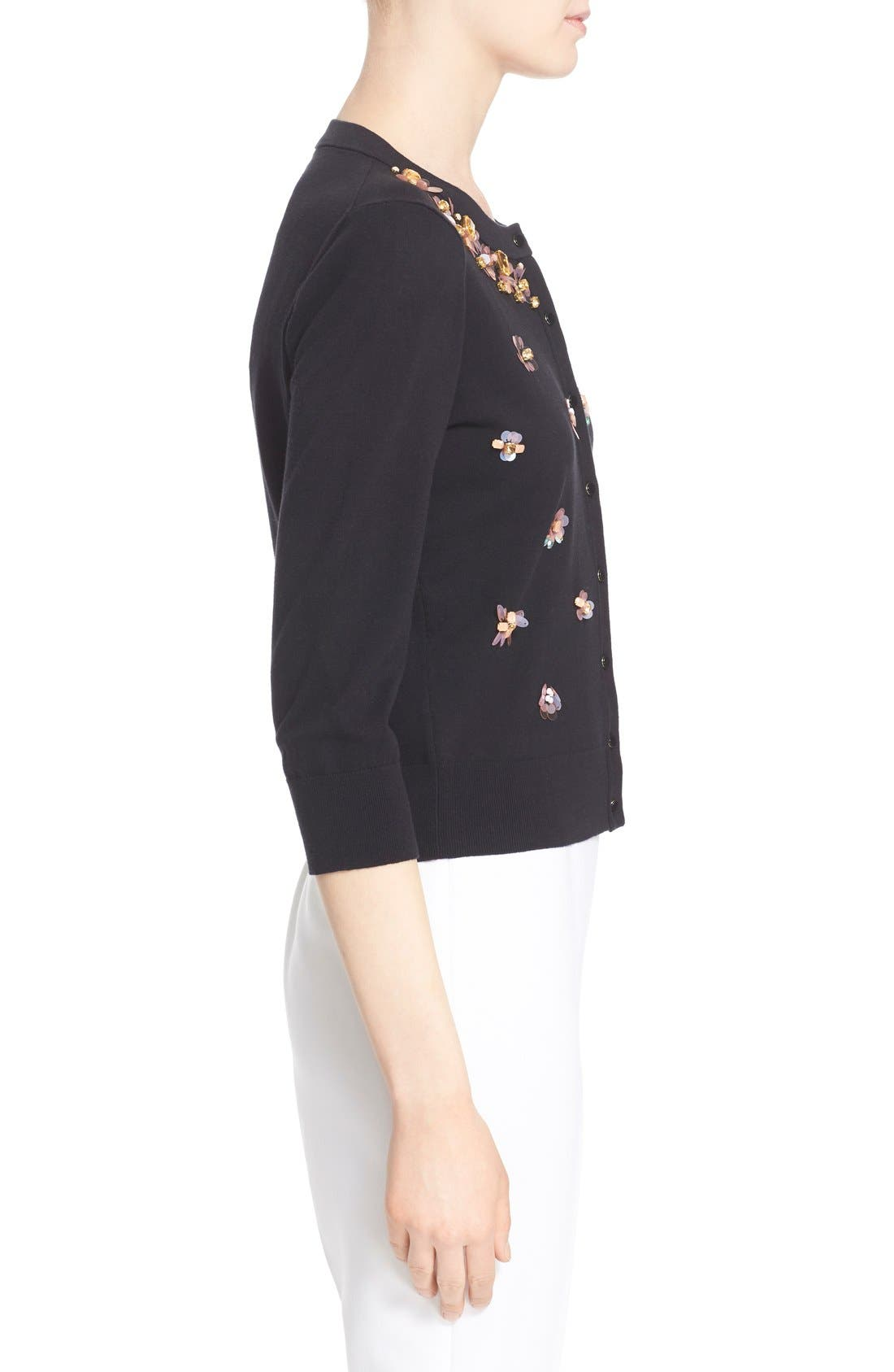 Alternate Image 3  - kate spade new york embellished cardigan