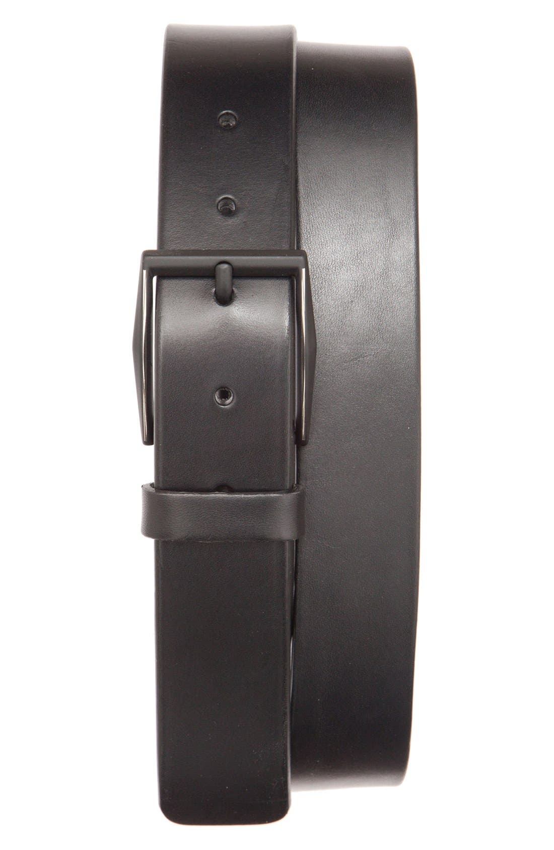 Alternate Image 1 Selected - Trafalgar 'Blake' Leather Belt