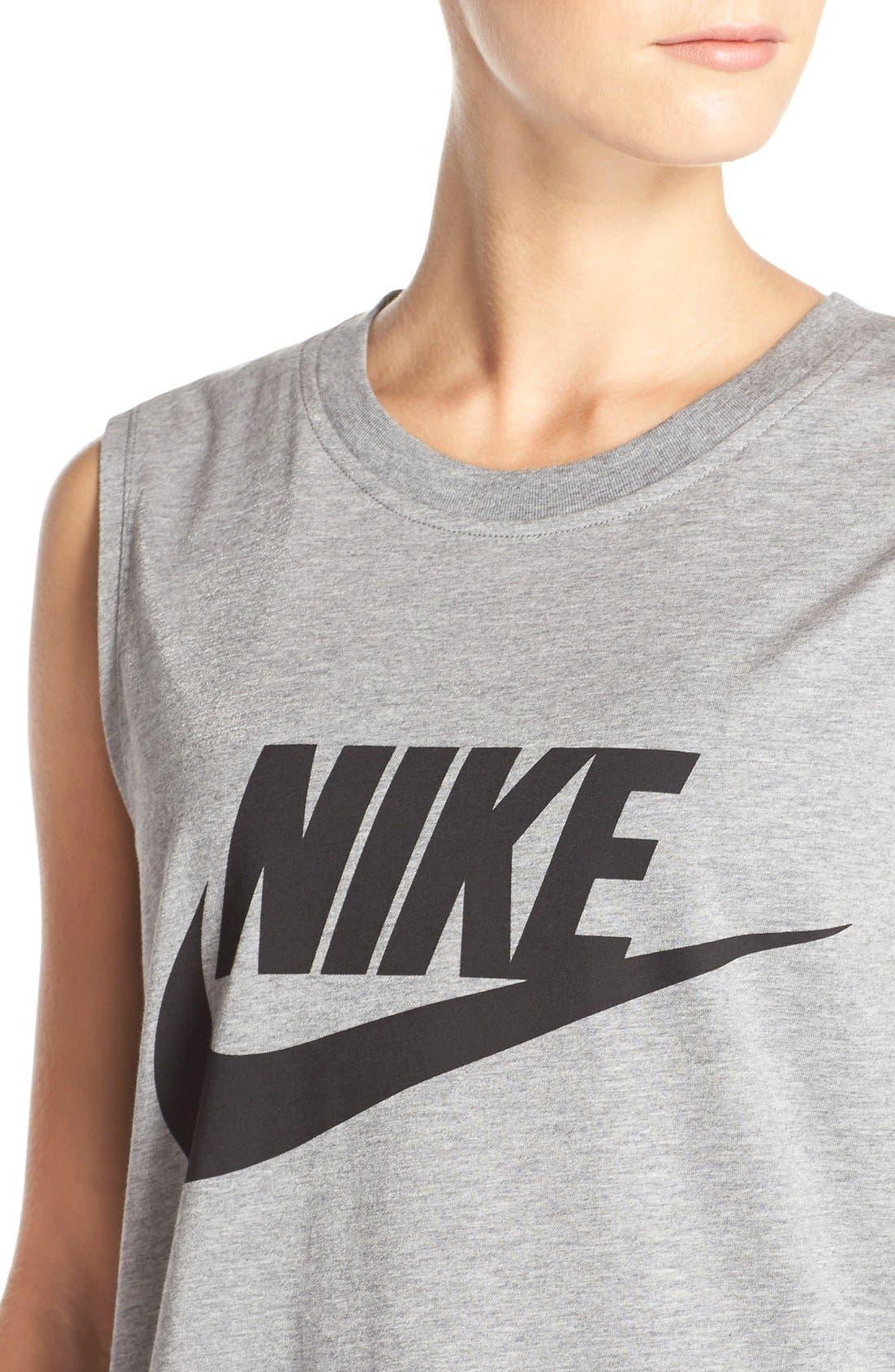 Alternate Image 4  - Nike 'Signal' Muscle Tank