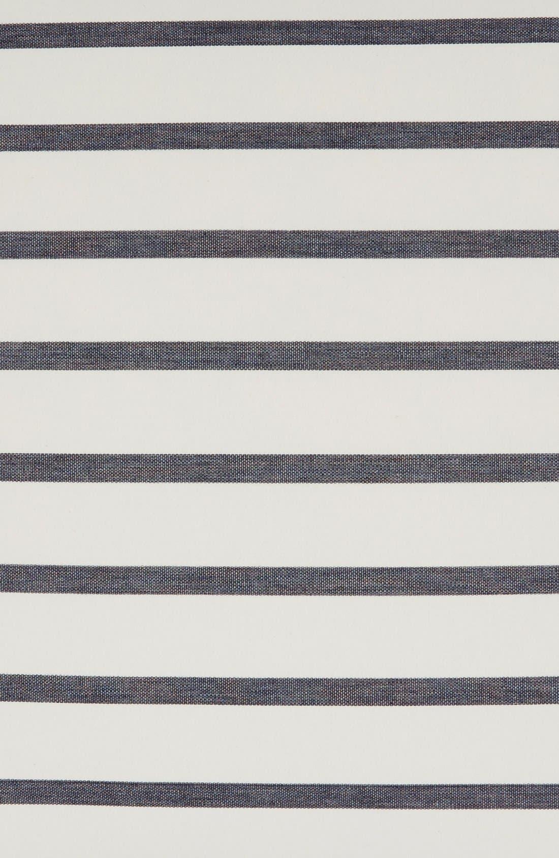Alternate Image 3  - kate spade new york 'harbour stripe' euro sham