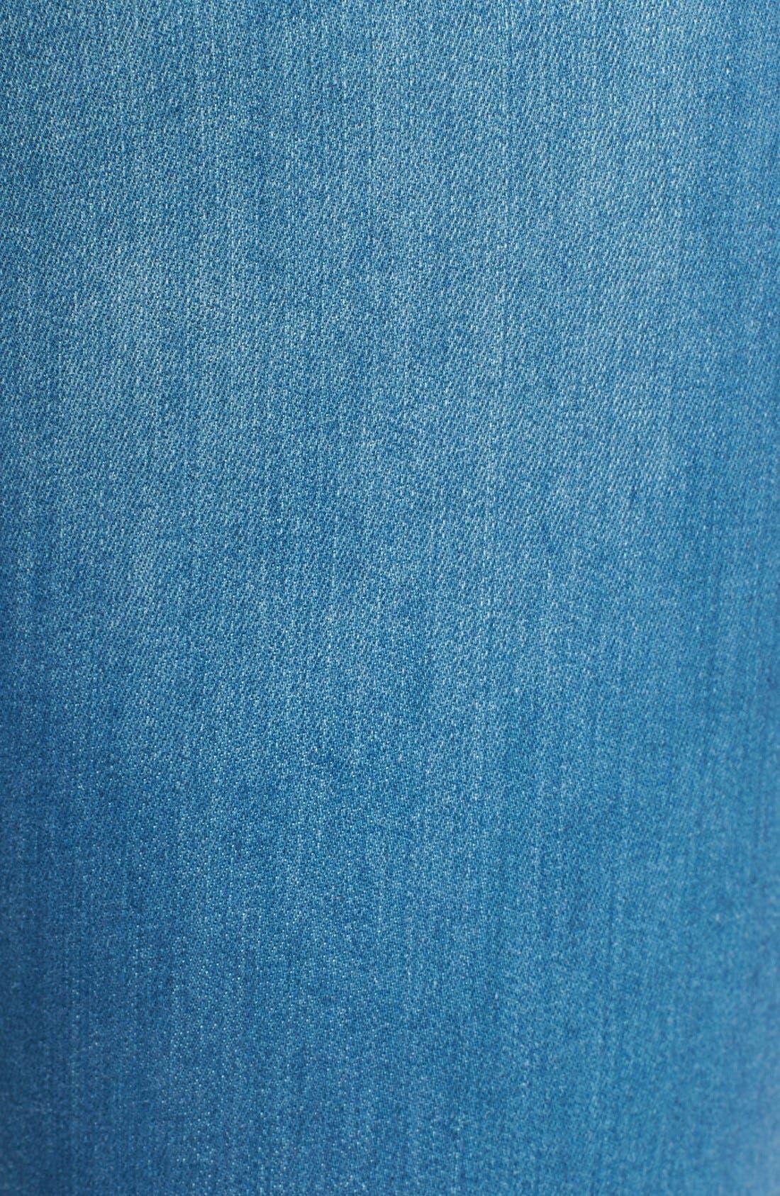 Alternate Image 5  - Mavi Jeans Gold 'Alexa' Stretch Ankle Skinny Jeans
